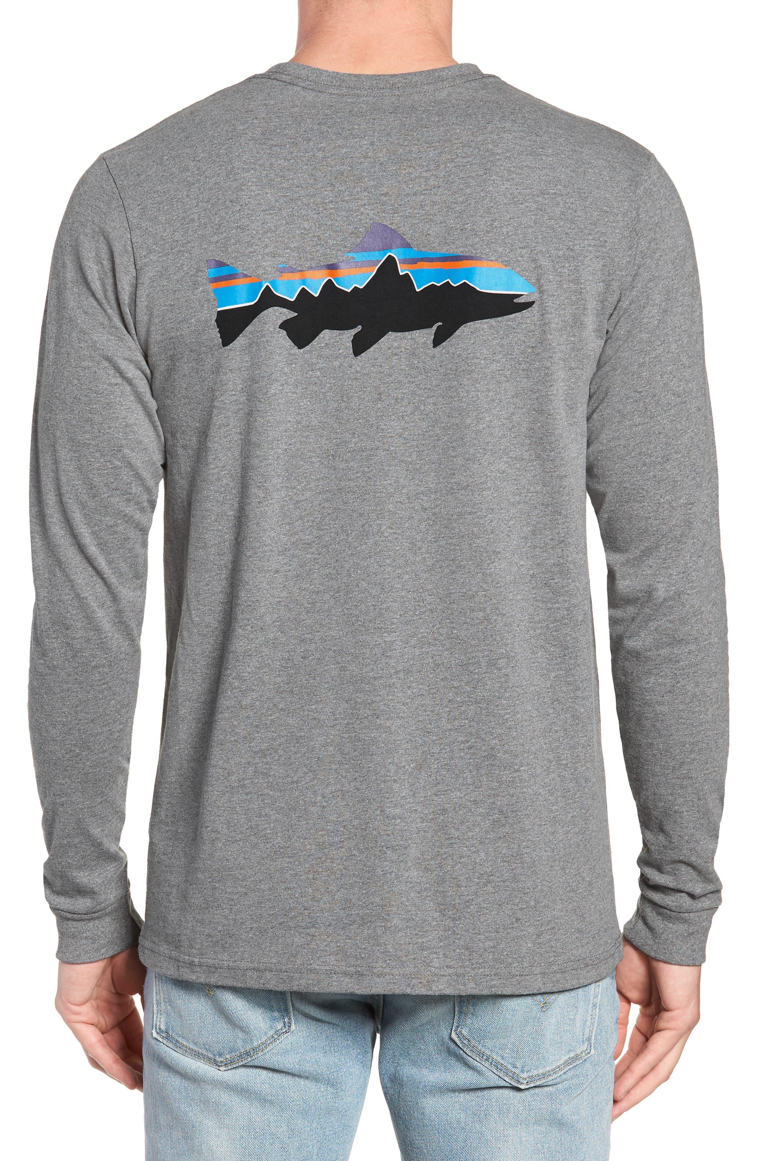PATAGONIA,                             Fitz Roy Responsibili-Tee Long-Sleeve T-Shirt,                             Alternate thumbnail 2, color,                             020