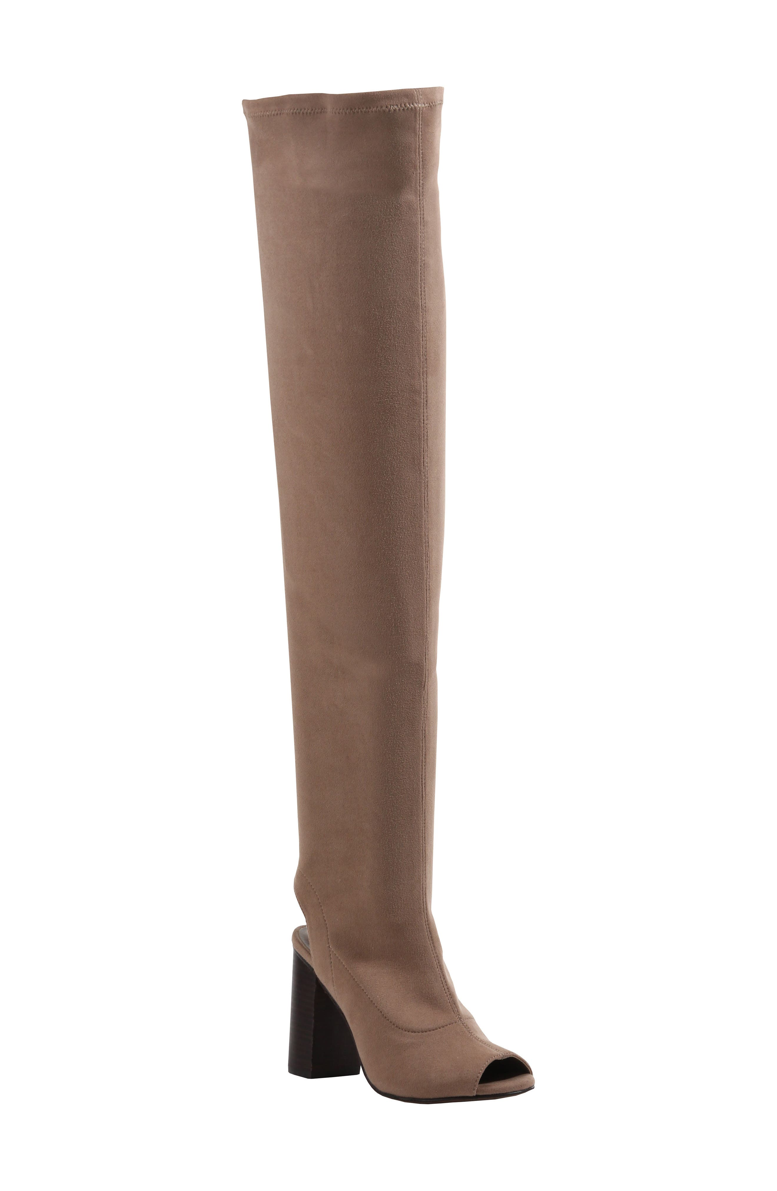 Robyn Cutout Over the Knee Boot,                             Main thumbnail 2, color,