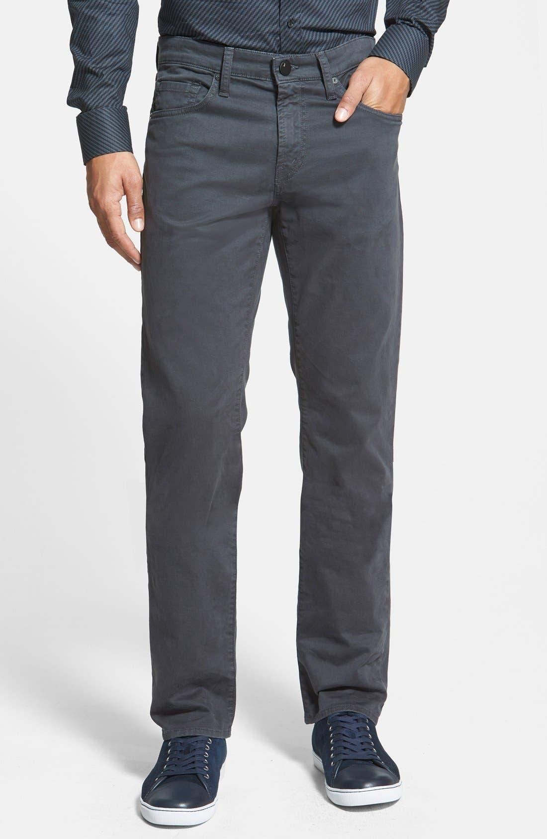 'Kane' Slim Fit Cotton Twill Pants,                             Main thumbnail 5, color,