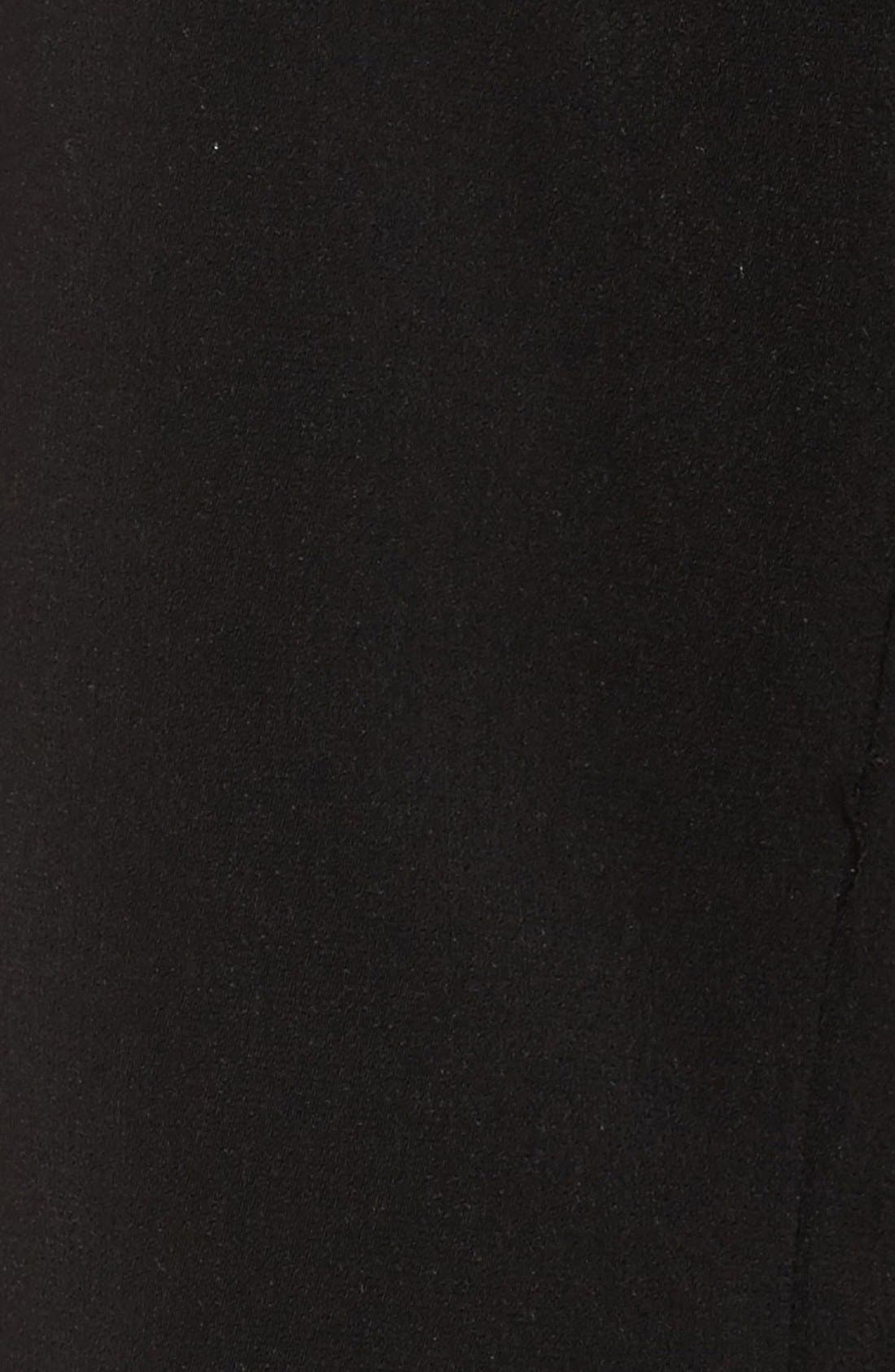Full Length Hooded Nepage Raincoat,                             Alternate thumbnail 7, color,                             BLACK