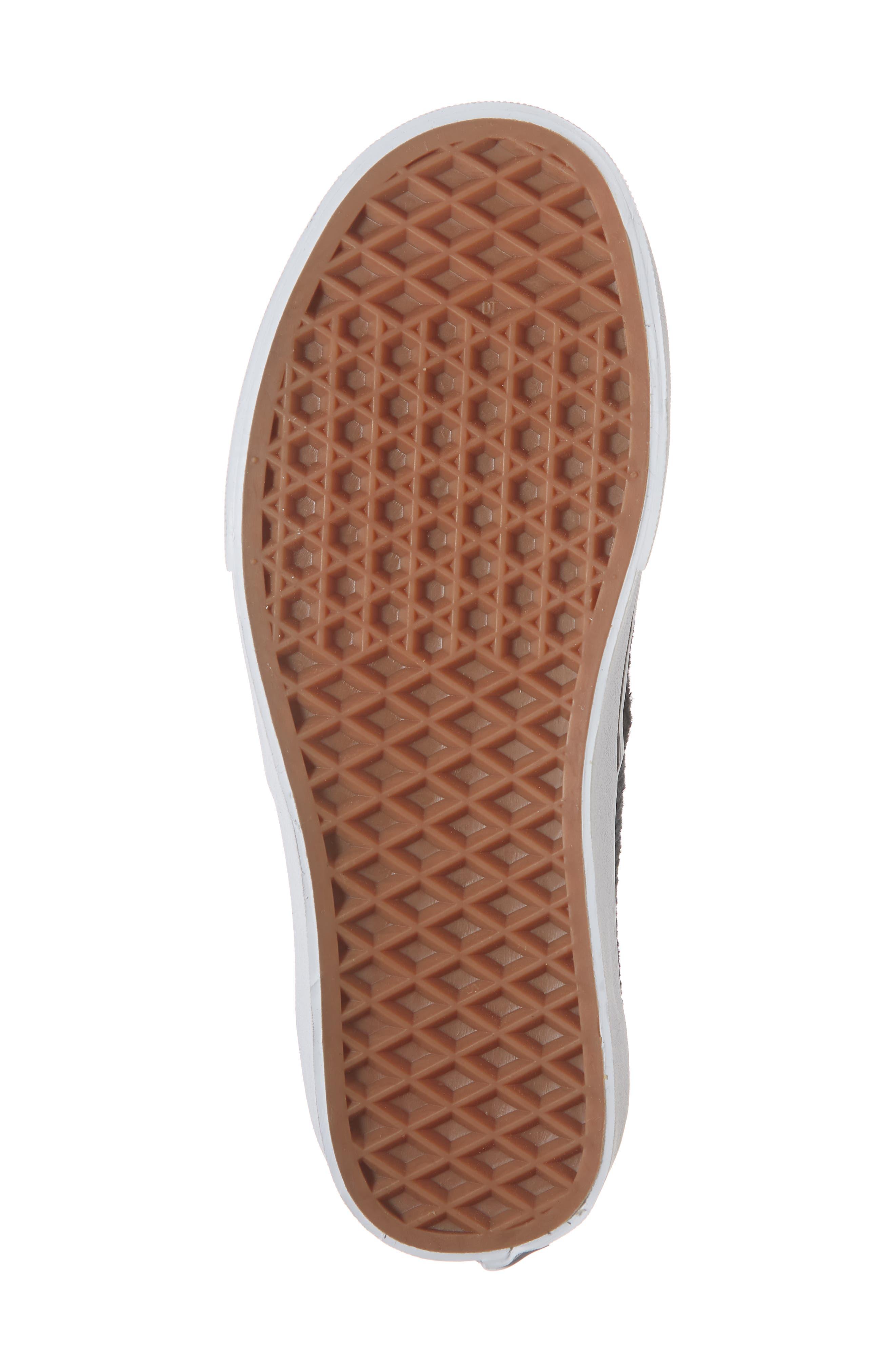 UA Authentic Design Assembly Sneaker,                             Alternate thumbnail 6, color,                             BLACK/ TRUE WHITE