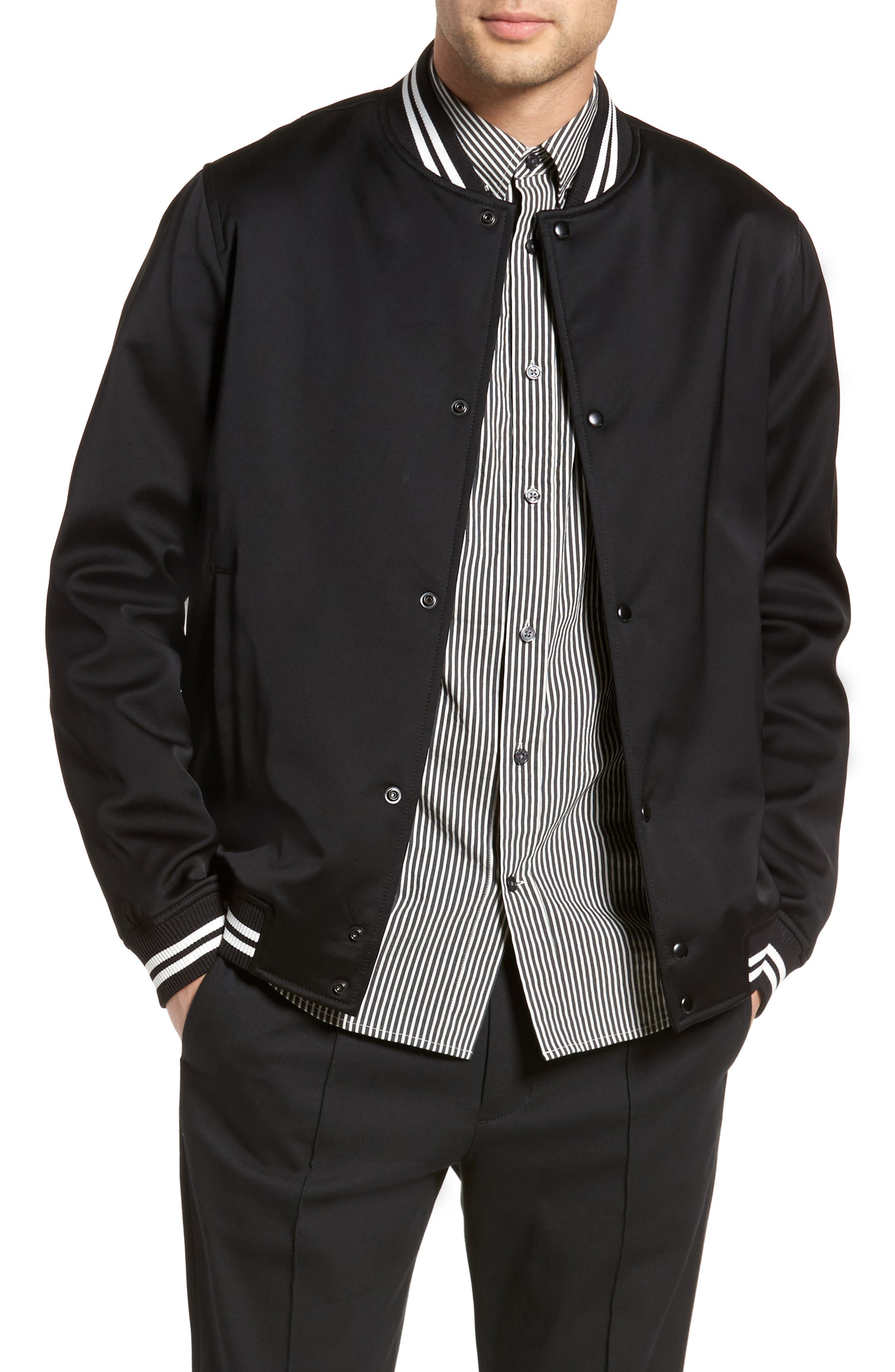 Varsity Jacket,                             Main thumbnail 1, color,                             001