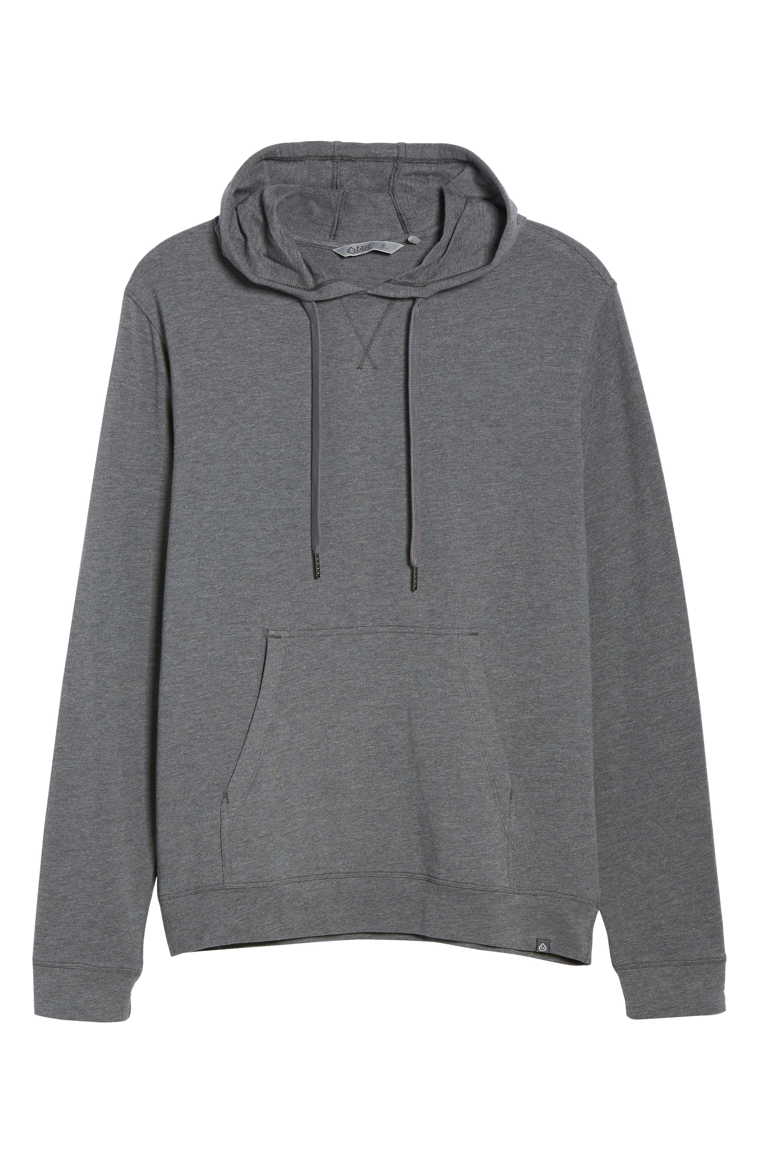 Legacy Hooded Pullover,                             Alternate thumbnail 5, color,                             BLACK