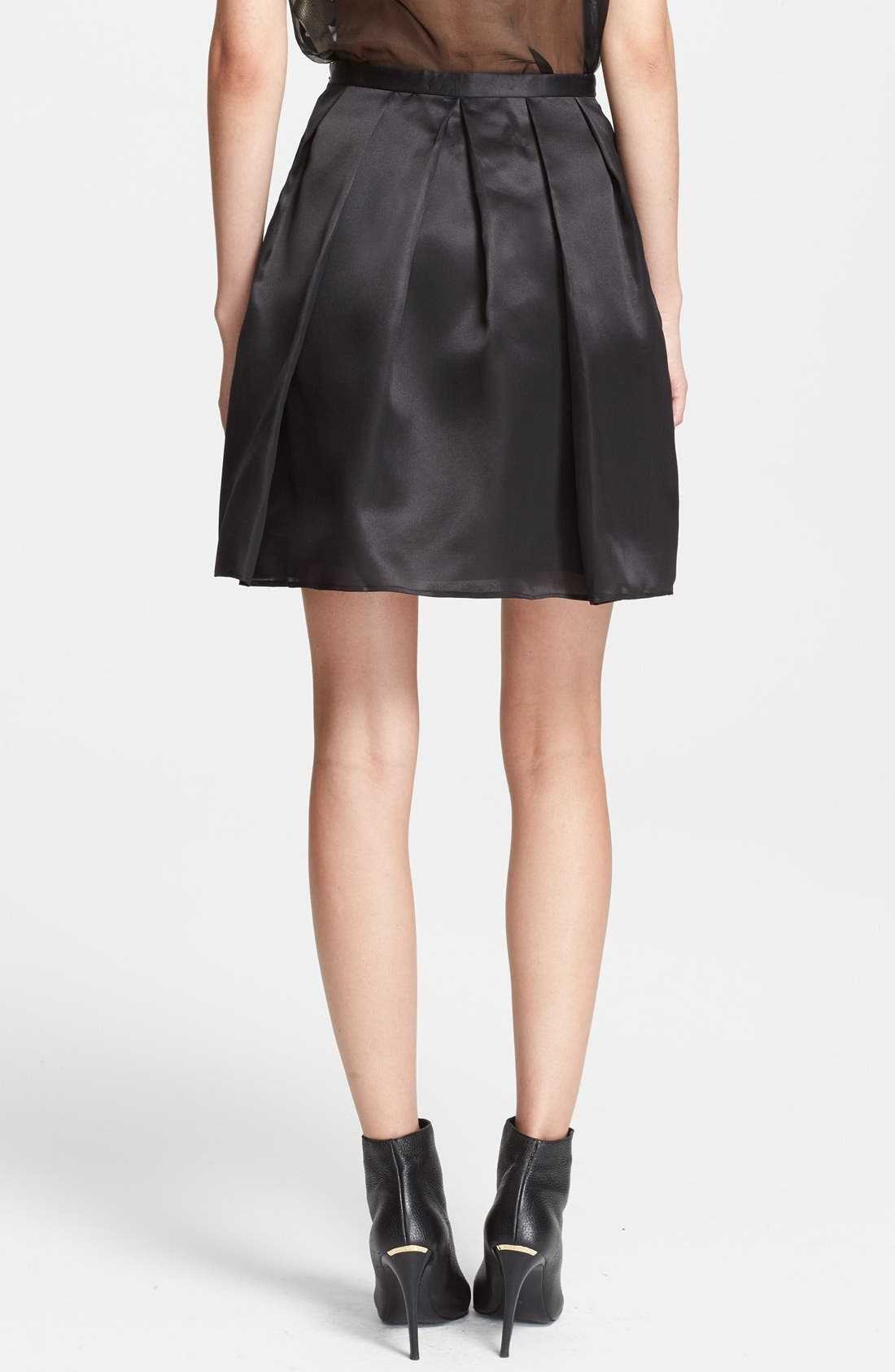 Full Organza Skirt,                             Alternate thumbnail 2, color,                             001