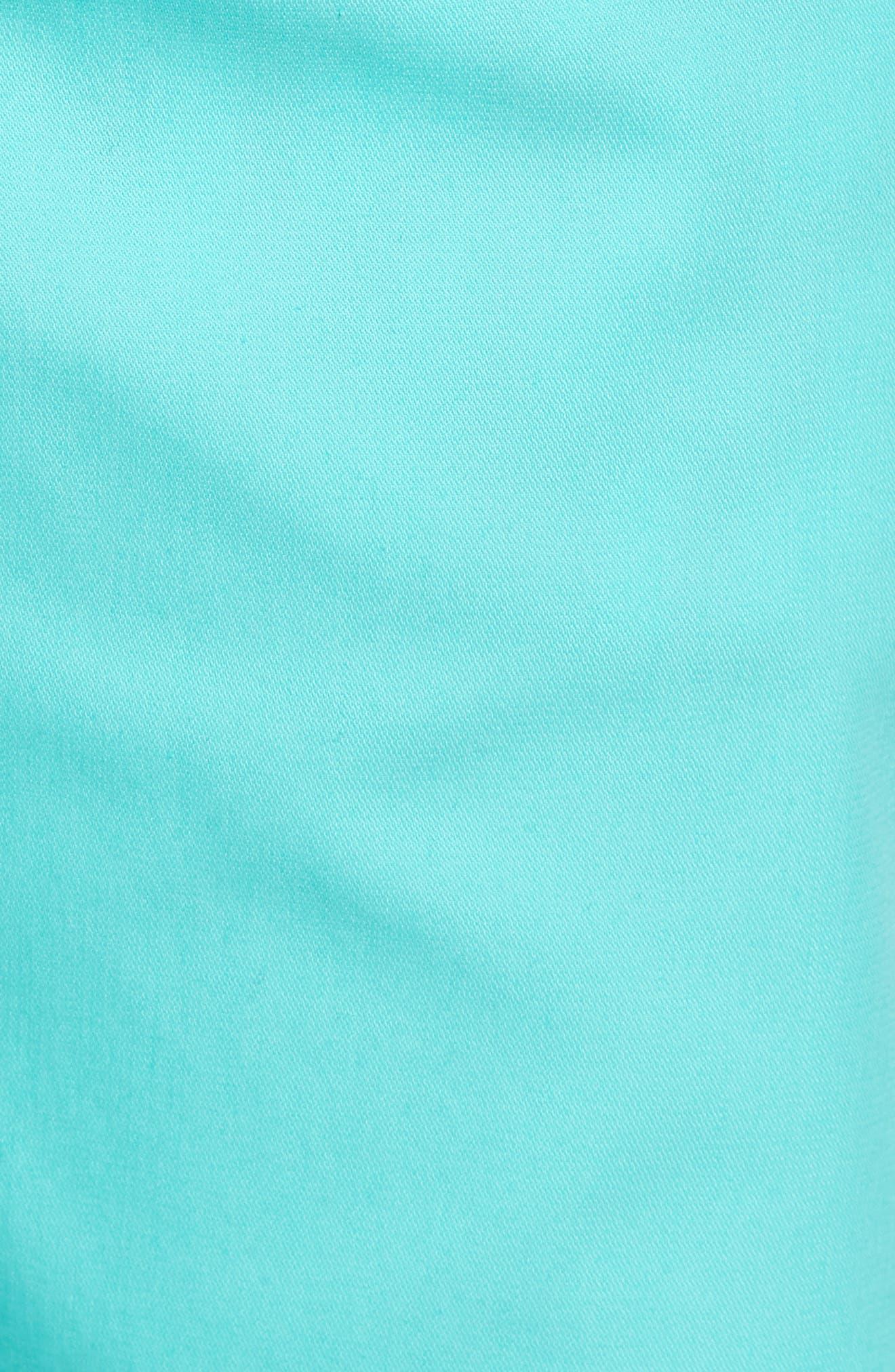 Twopar Flat Front Shorts,                             Alternate thumbnail 5, color,                             GREEN