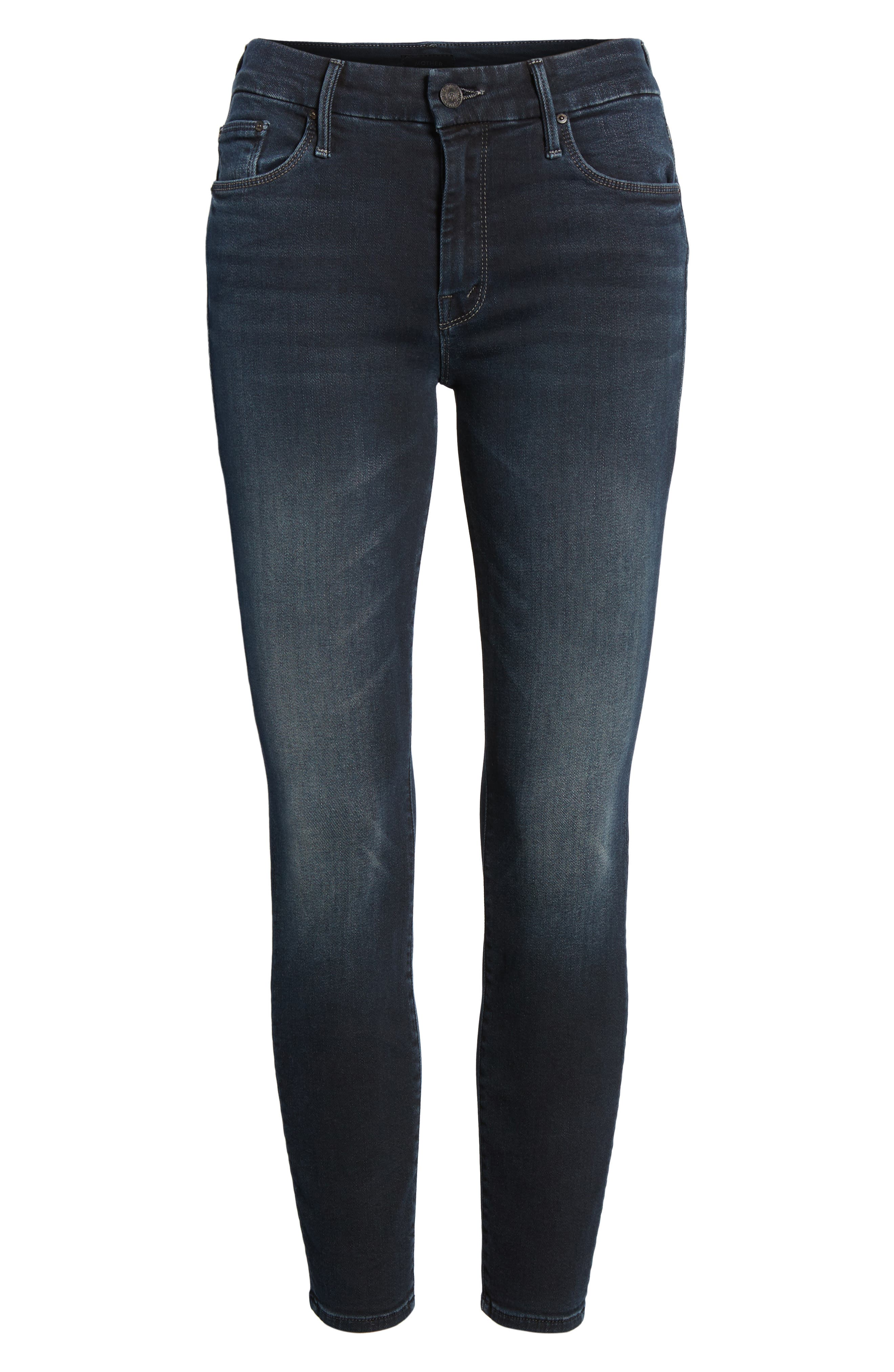 The Looker Crop Skinny Jeans,                             Alternate thumbnail 7, color,                             405