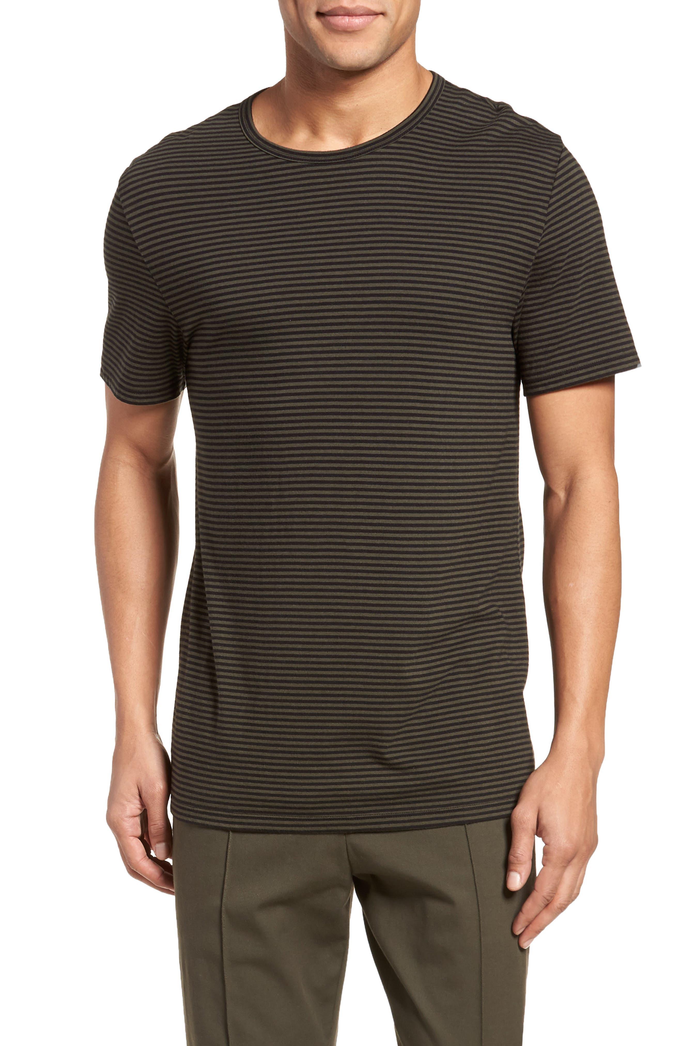 Feeder Stripe Long Sleeve Shirt,                             Main thumbnail 2, color,