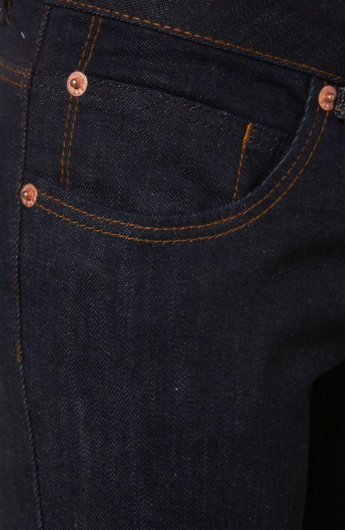Moto 'Baxter' Skinny Jeans,                             Alternate thumbnail 2, color,                             401