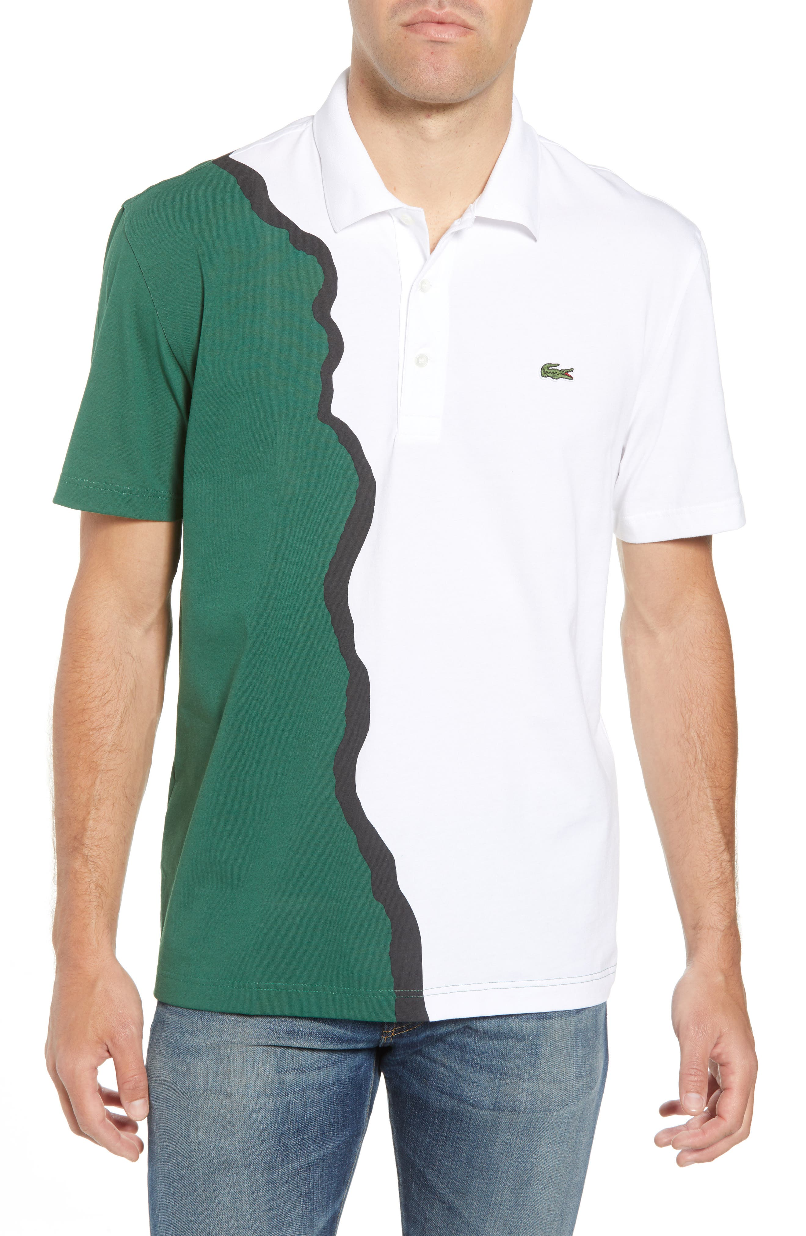 85th Anniversary Graphic Jersey Polo,                         Main,                         color, 300