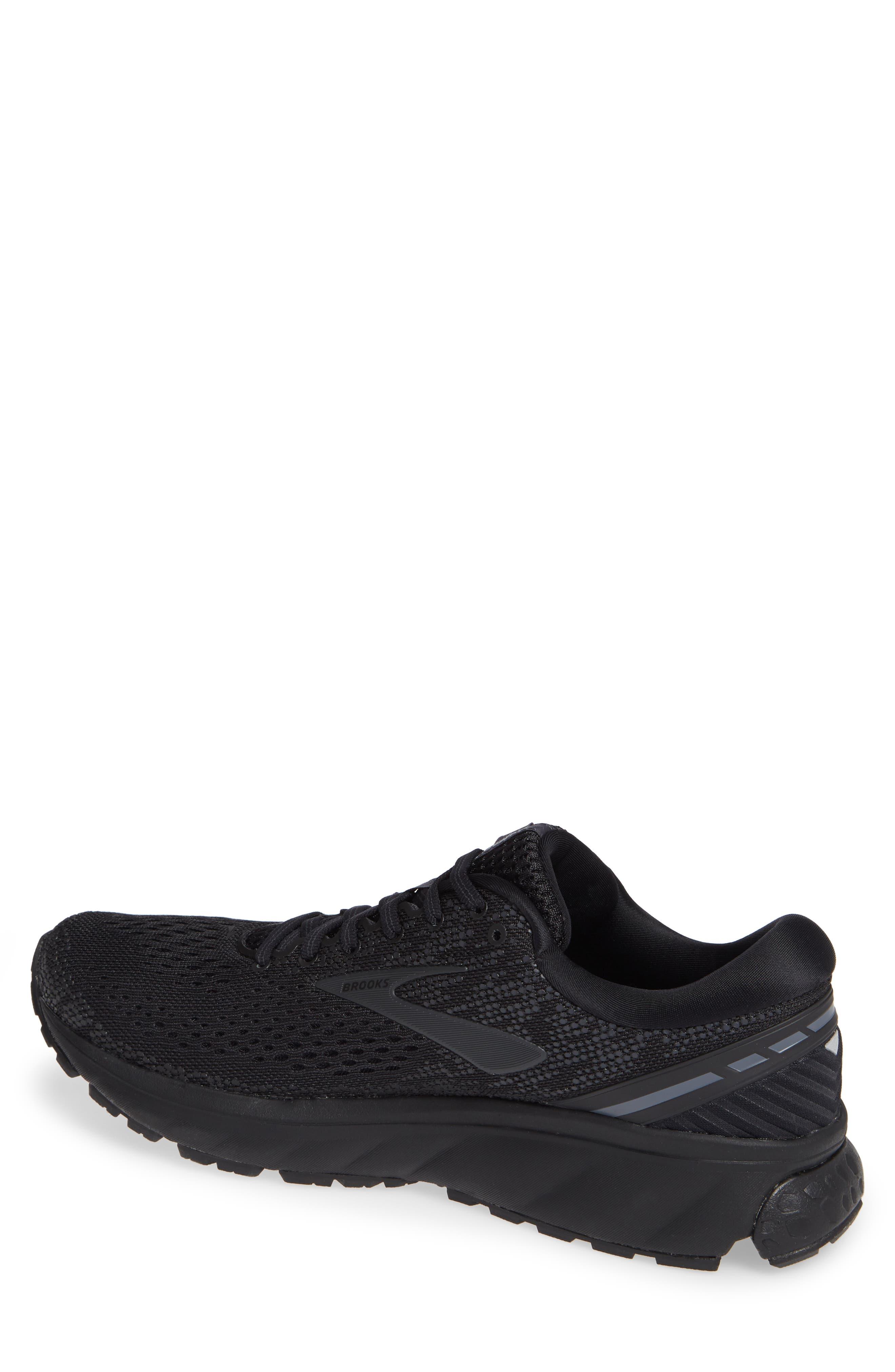 Ghost 11 Running Shoe,                             Alternate thumbnail 2, color,                             BLACK/ EBONY