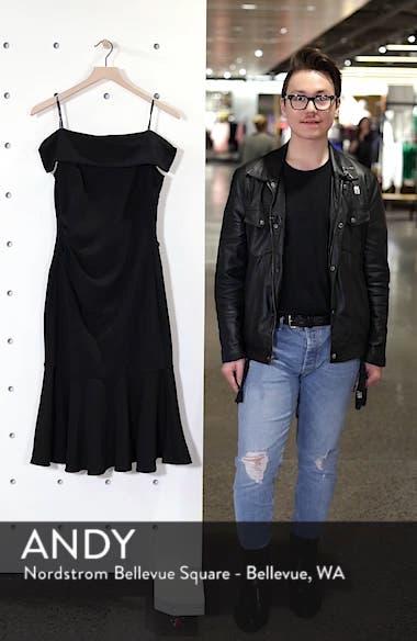 Off the Shoulder Midi Dress, sales video thumbnail