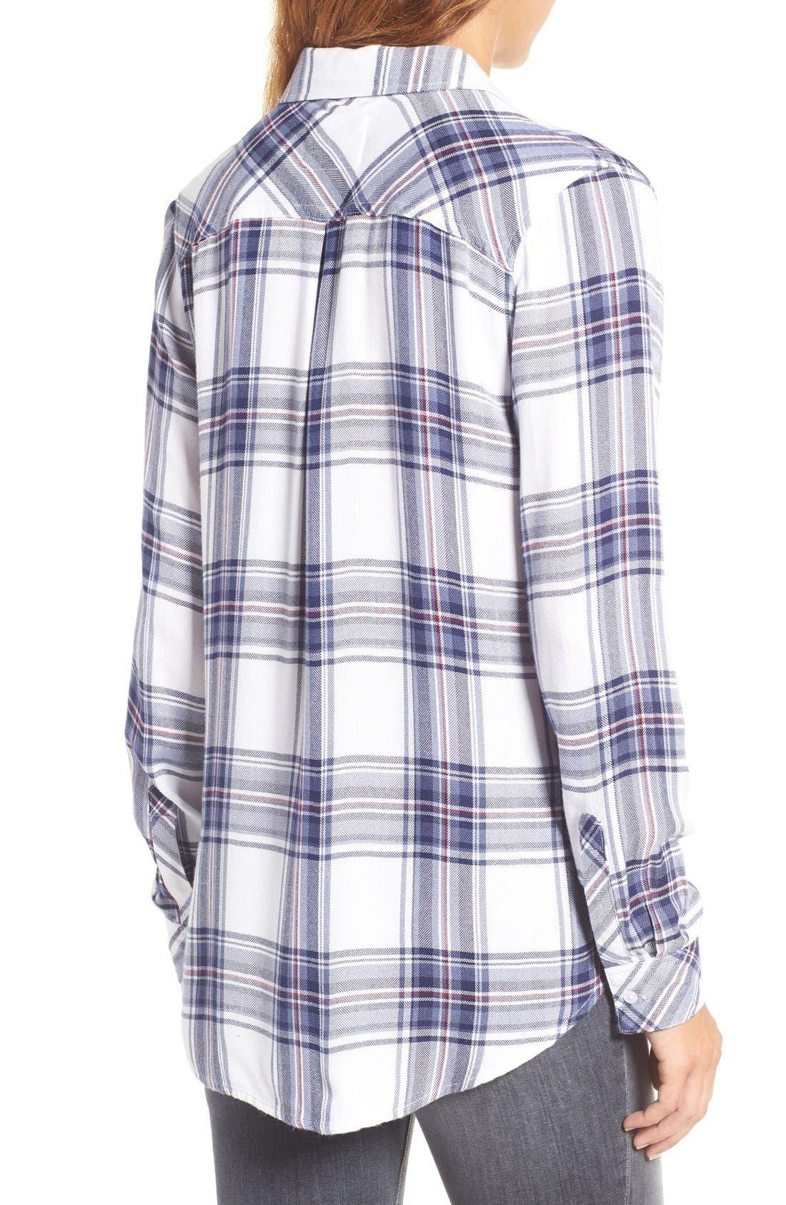 Hunter Plaid Shirt,                             Alternate thumbnail 646, color,