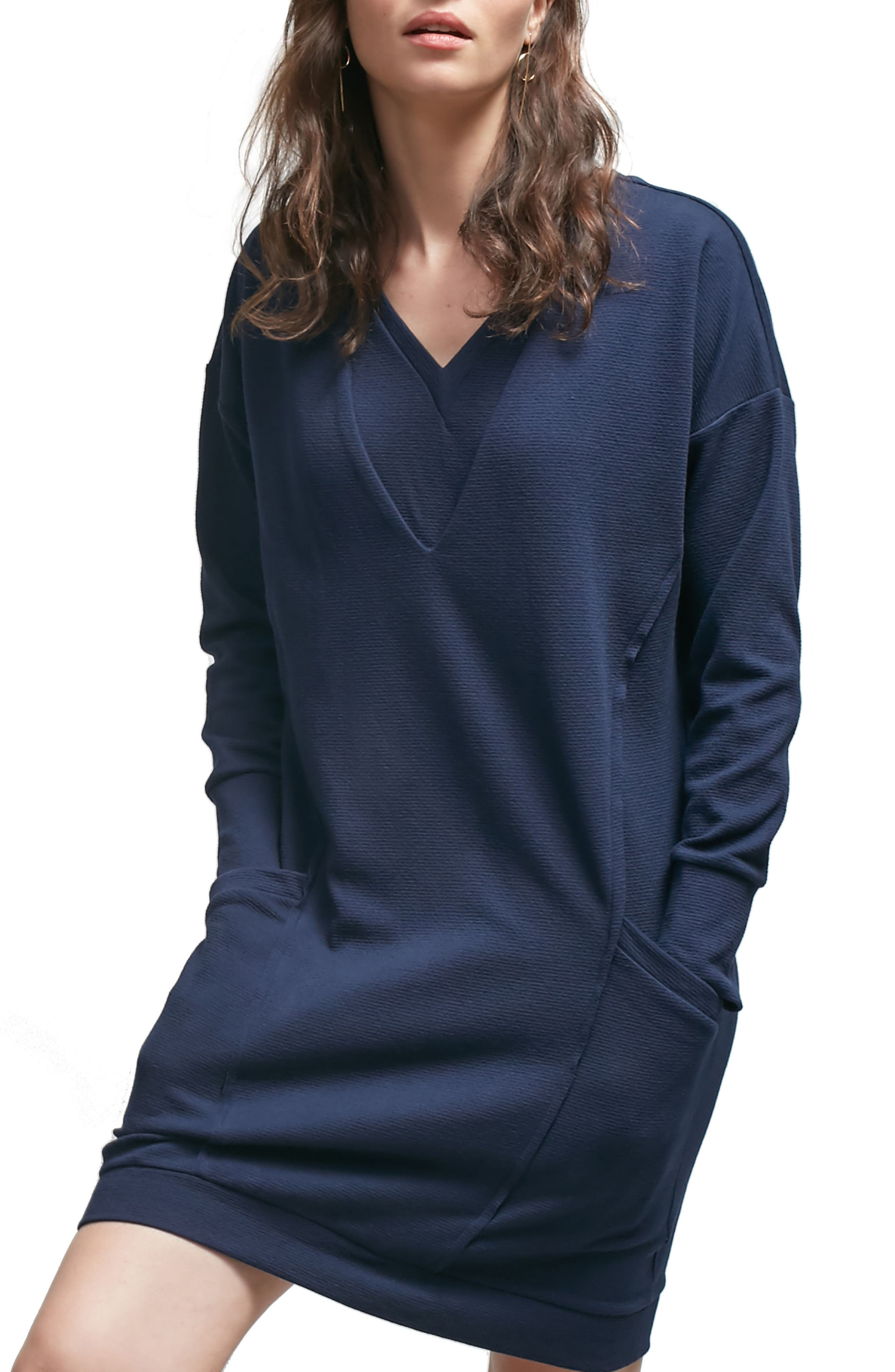 Margot Nursing Sweater Dress,                             Main thumbnail 2, color,