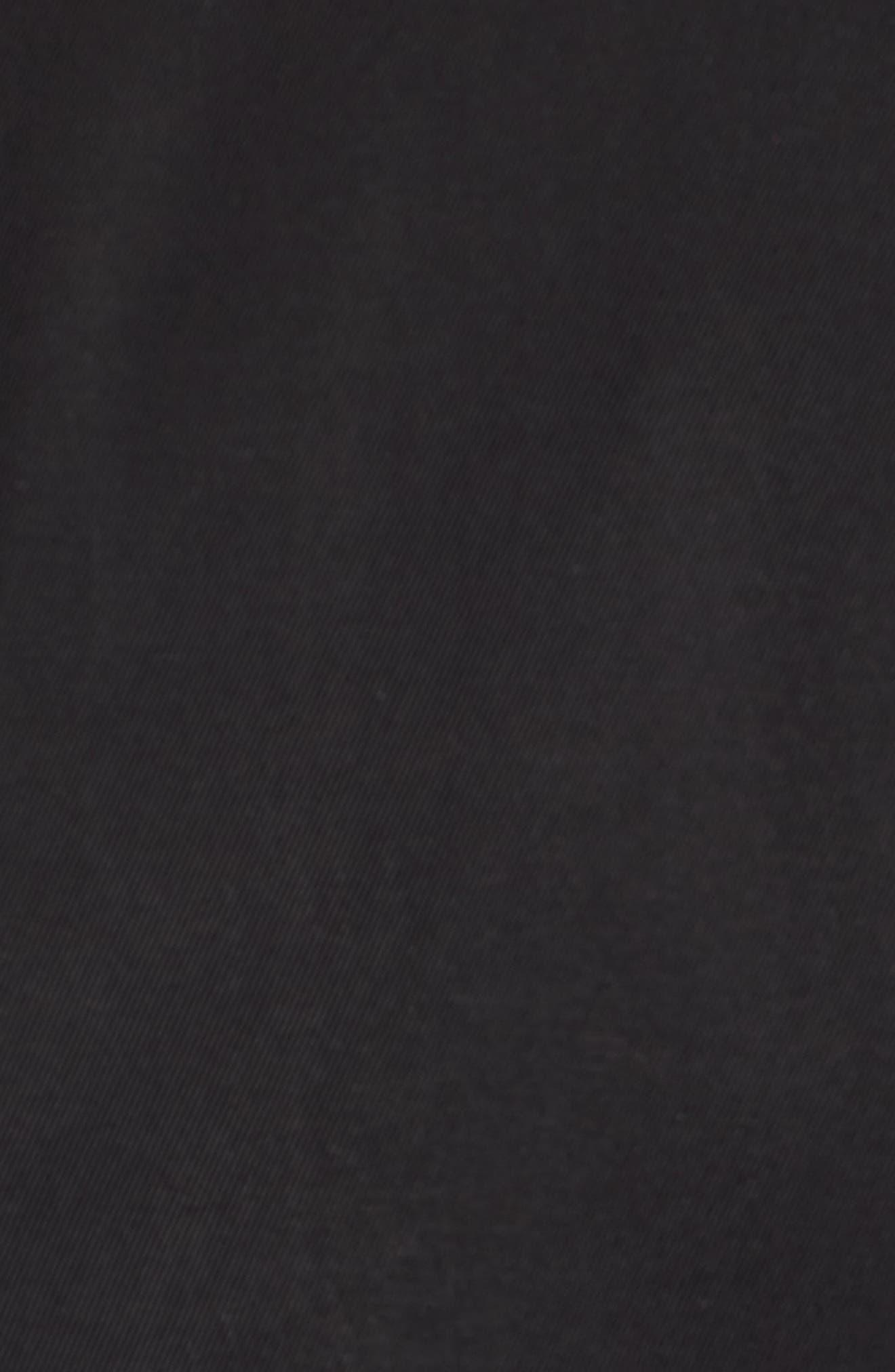 Twill Iconic Jacket,                             Alternate thumbnail 6, color,                             001