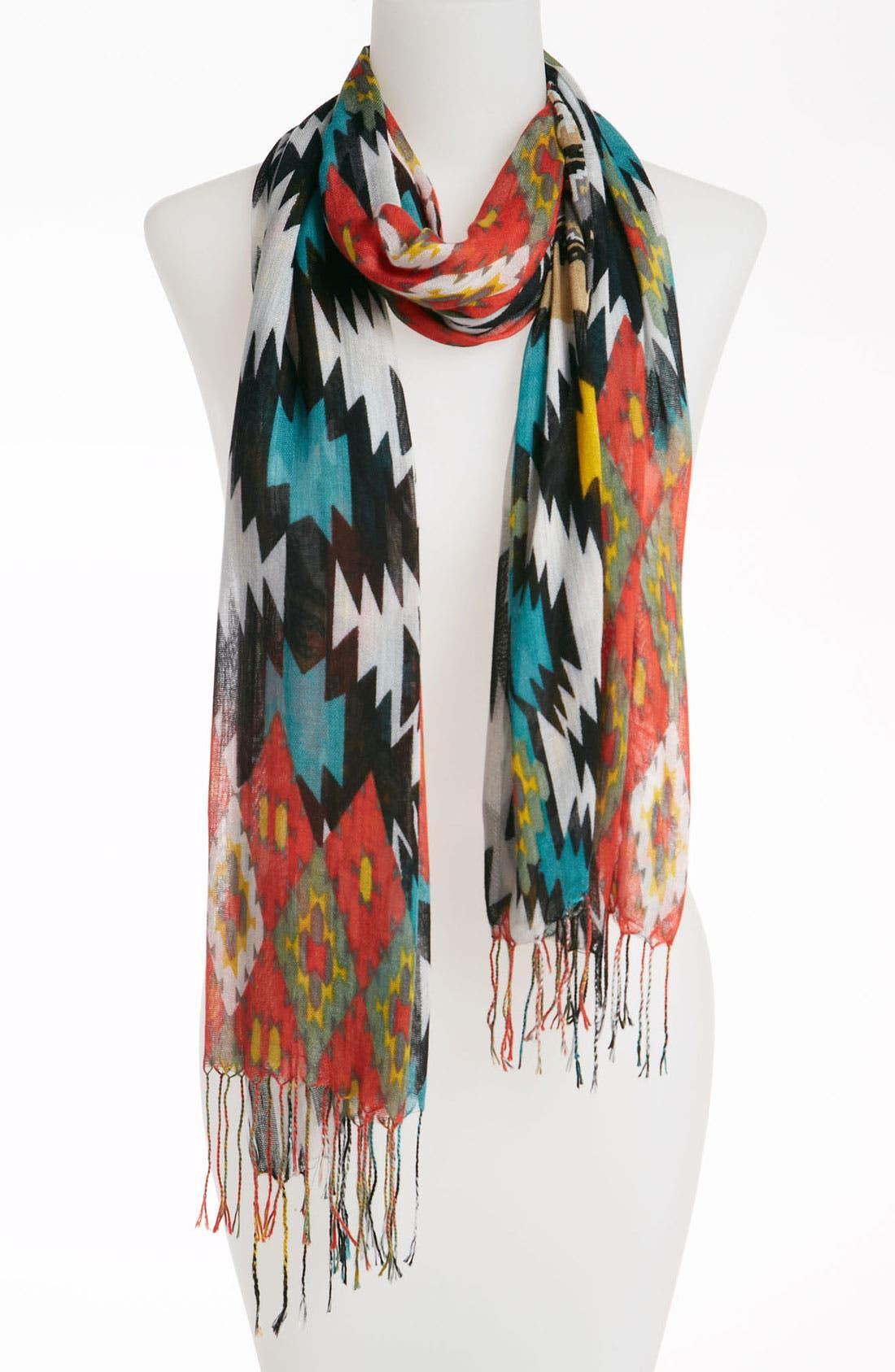 Couture 'Southwest' Scarf,                             Main thumbnail 1, color,                             600