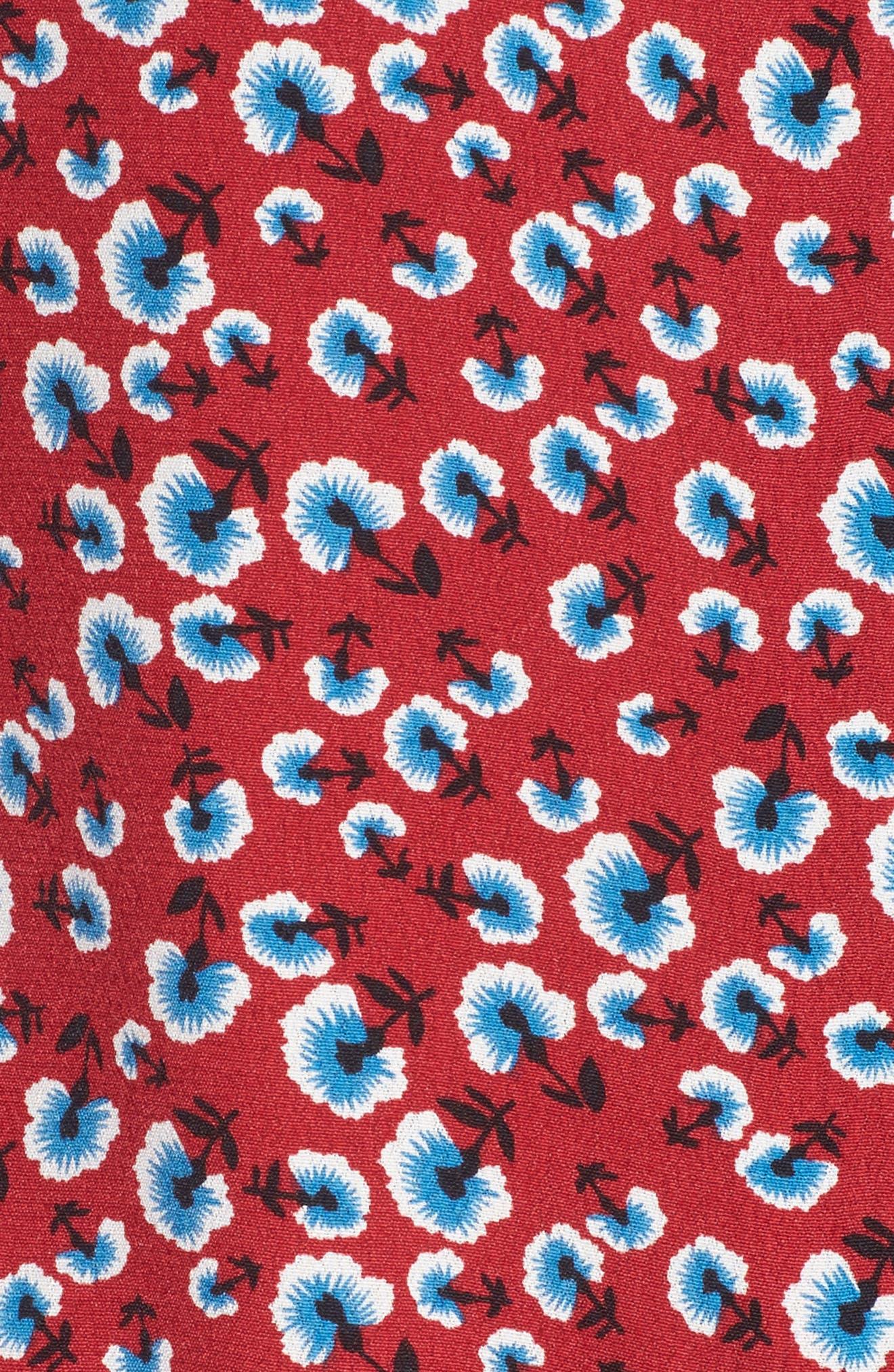 Beaux Print Blouse,                             Alternate thumbnail 5, color,                             619