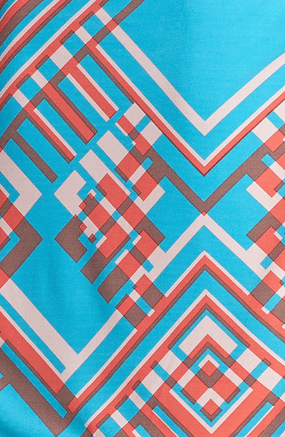 Print Jersey Blouson Dress,                             Alternate thumbnail 2, color,                             421