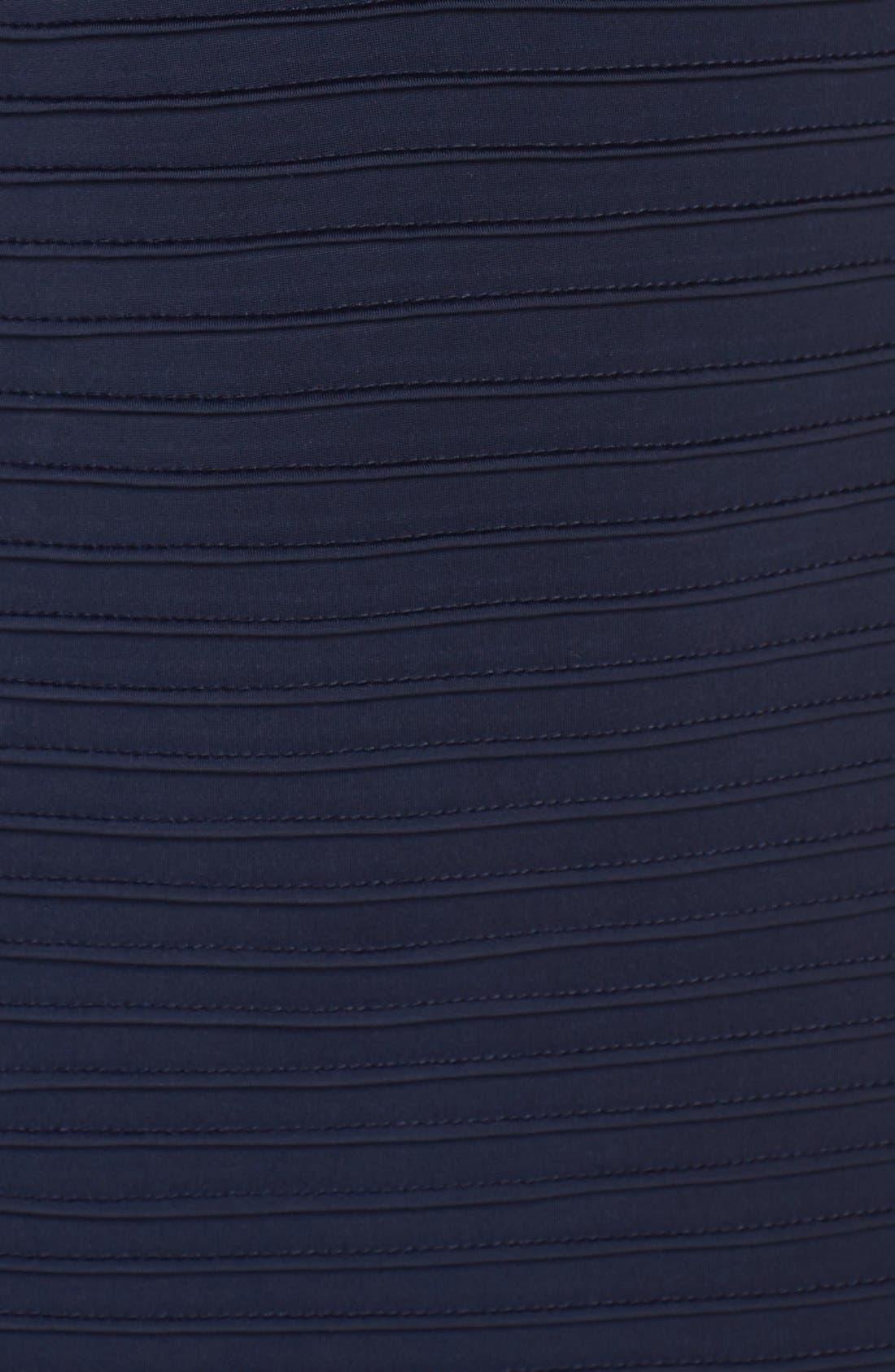Lace & Jersey Sheath Dress,                             Alternate thumbnail 7, color,                             412