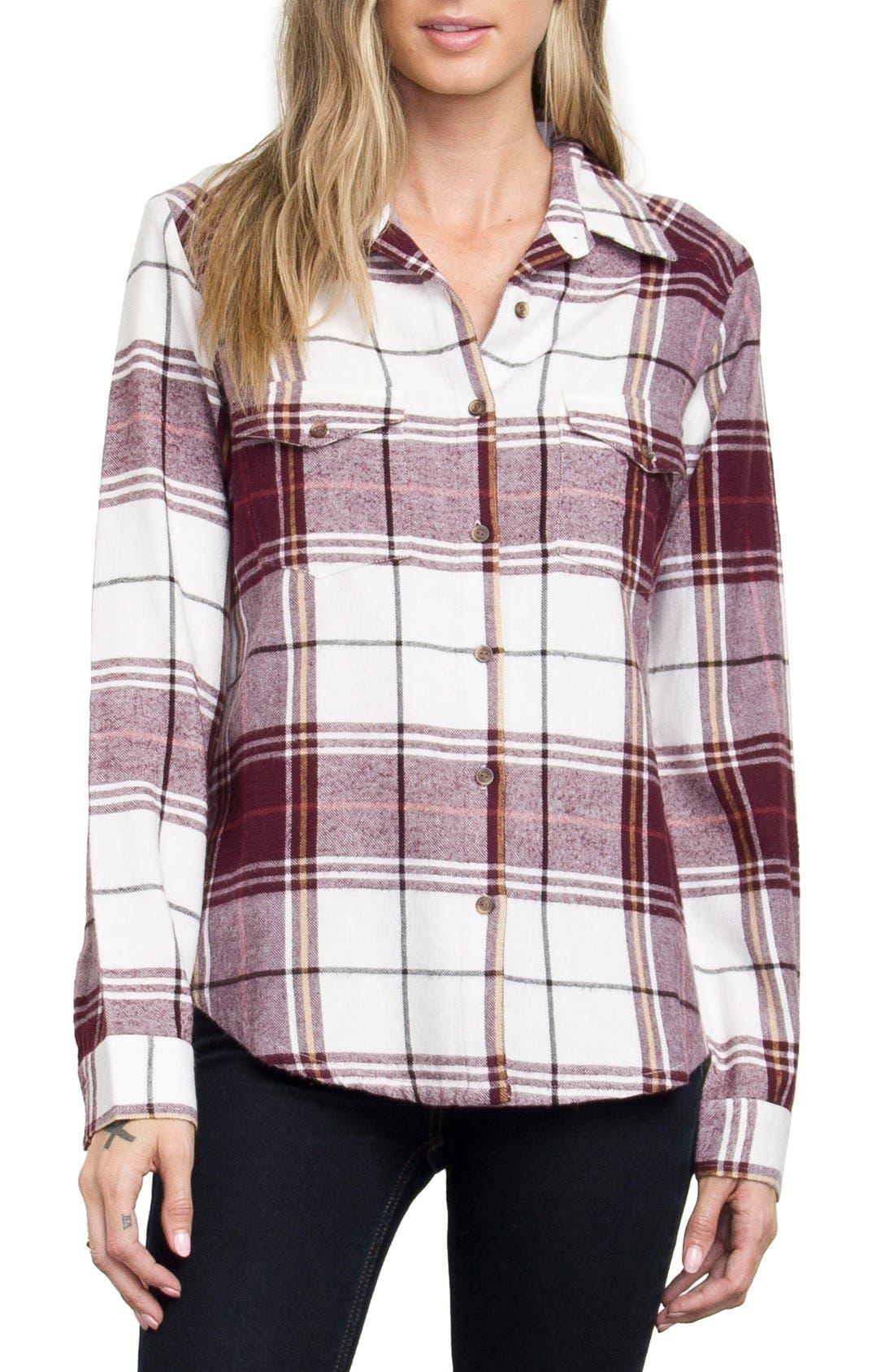 Plaid Flannel Shirt,                             Main thumbnail 5, color,