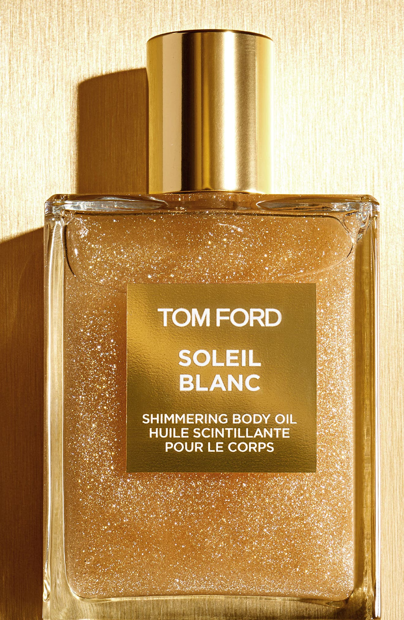 Soleil Blanc Shimmering Body Oil,                             Alternate thumbnail 2, color,                             GOLD