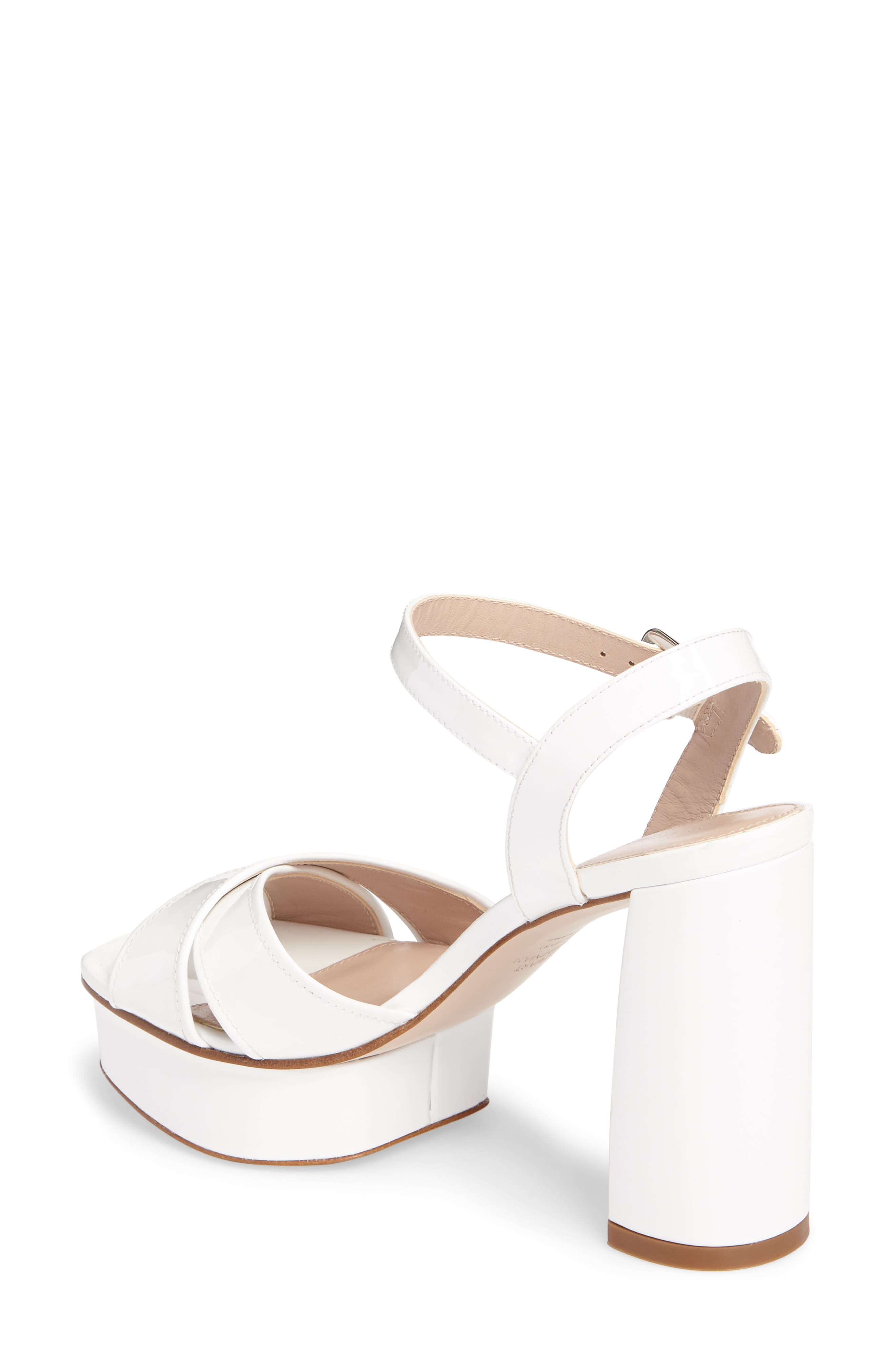 Exposed Platform Sandal,                             Alternate thumbnail 7, color,