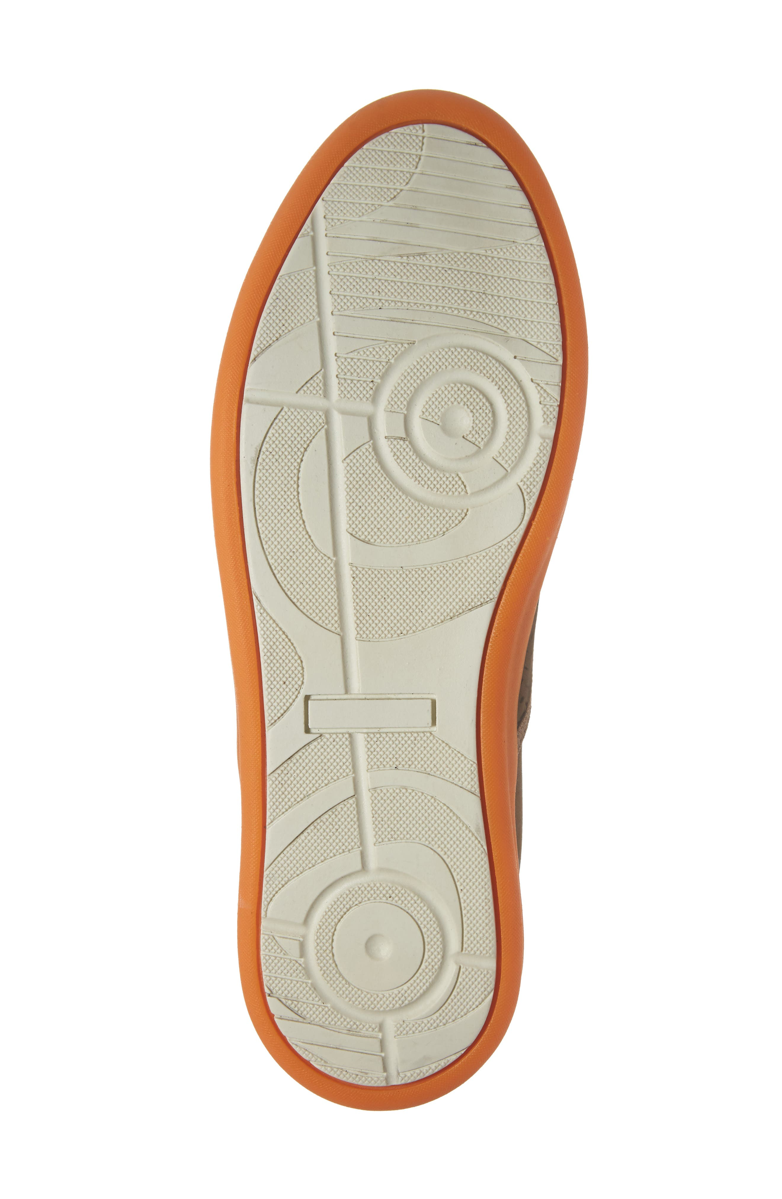 Malibu Perforated Loafer,                             Alternate thumbnail 6, color,                             SAND NUBUCK