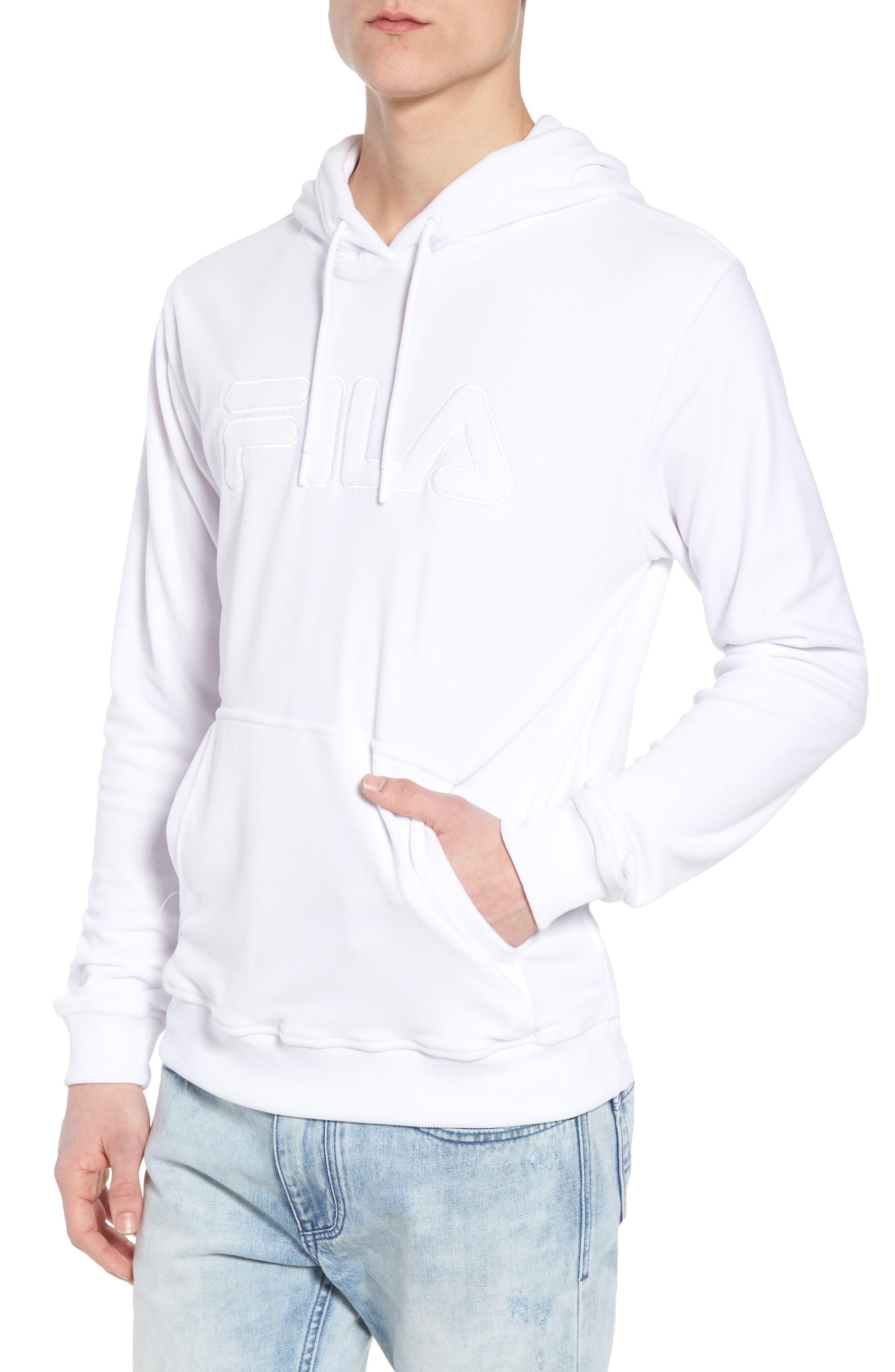 Asher Velour Hoodie Sweatshirt,                         Main,                         color, 100