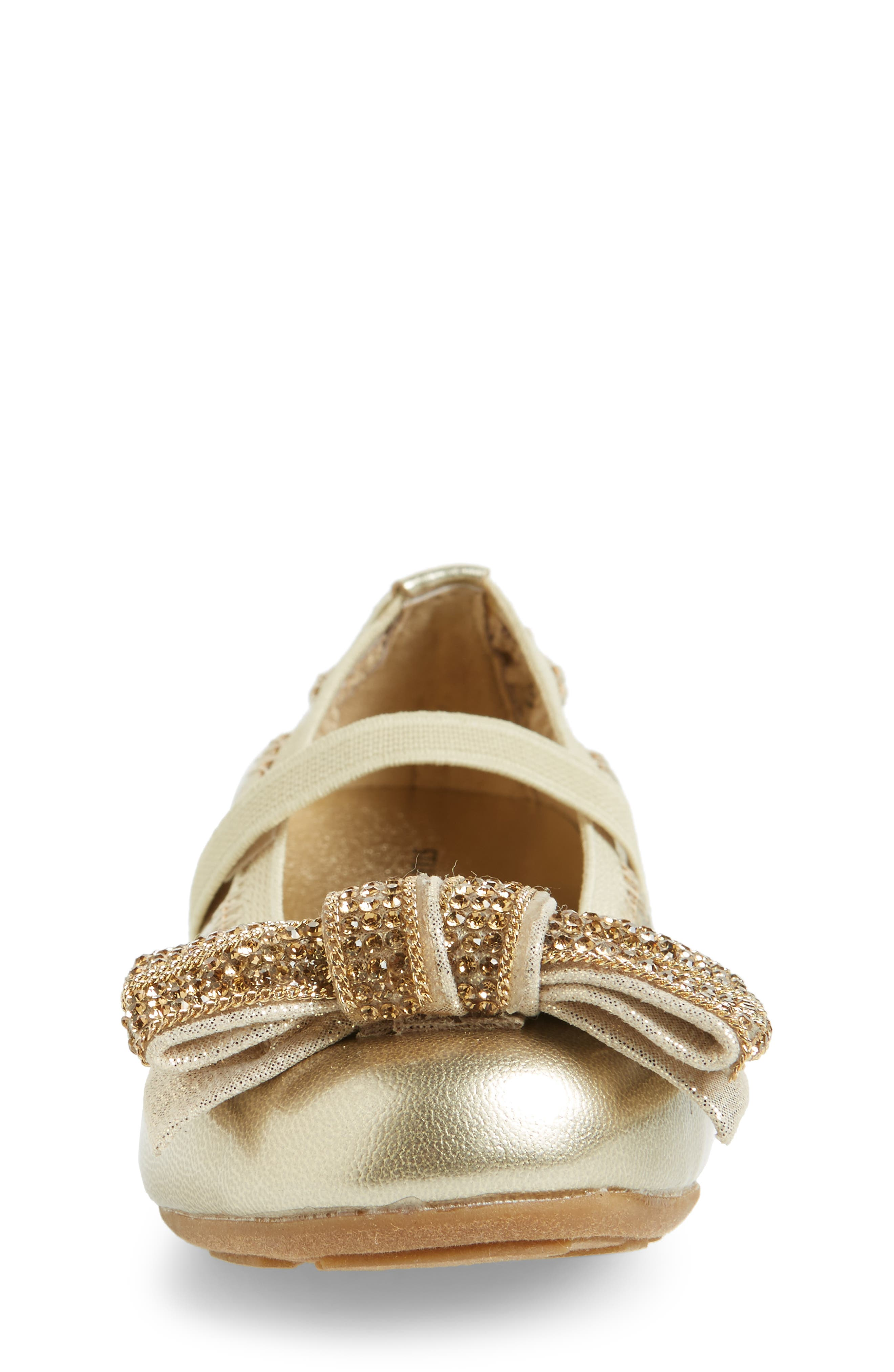 Fannie Embellished Bow Mary Jane Flat,                             Alternate thumbnail 12, color,