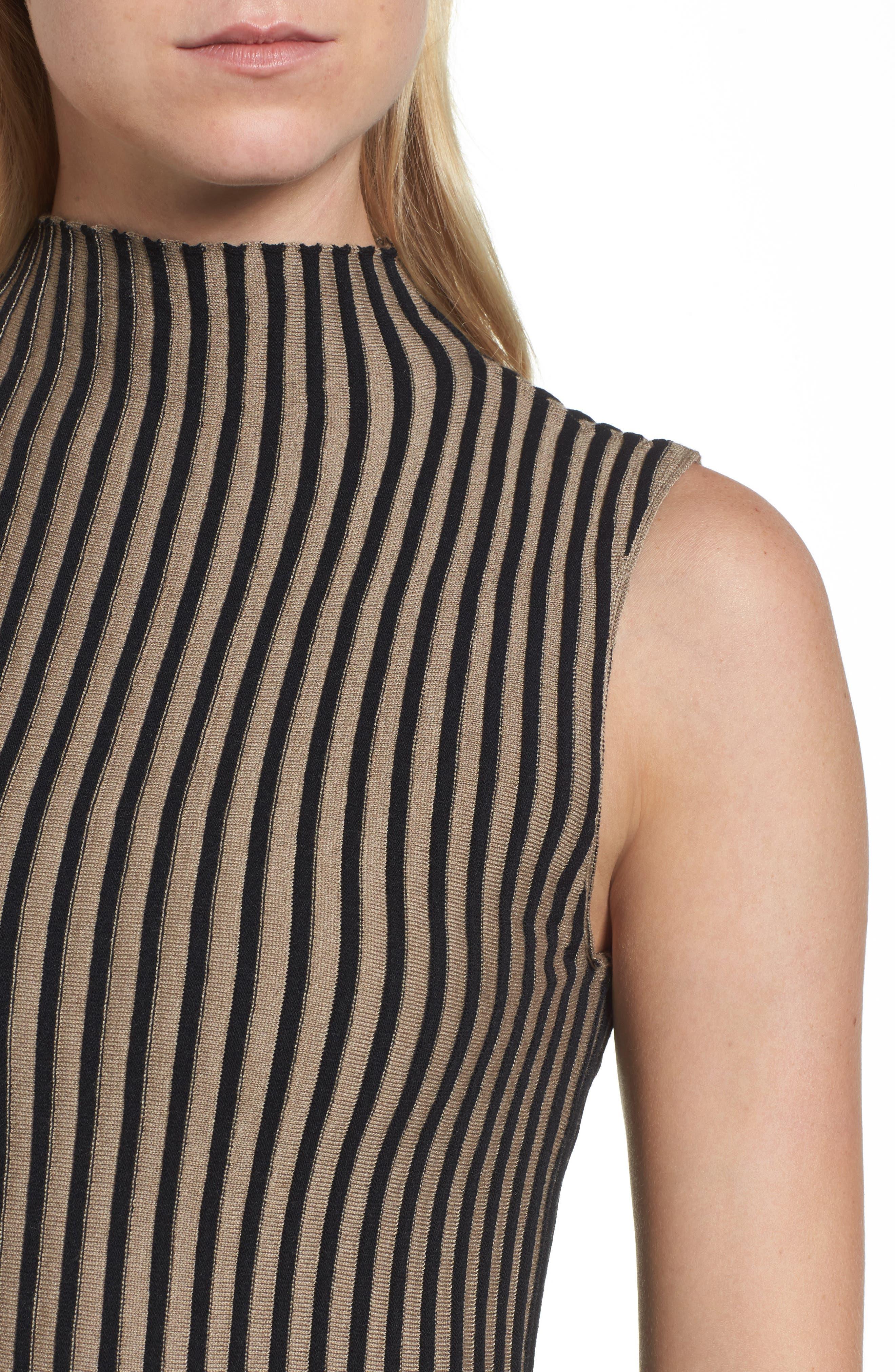 Stripe Sweater,                             Alternate thumbnail 4, color,                             010