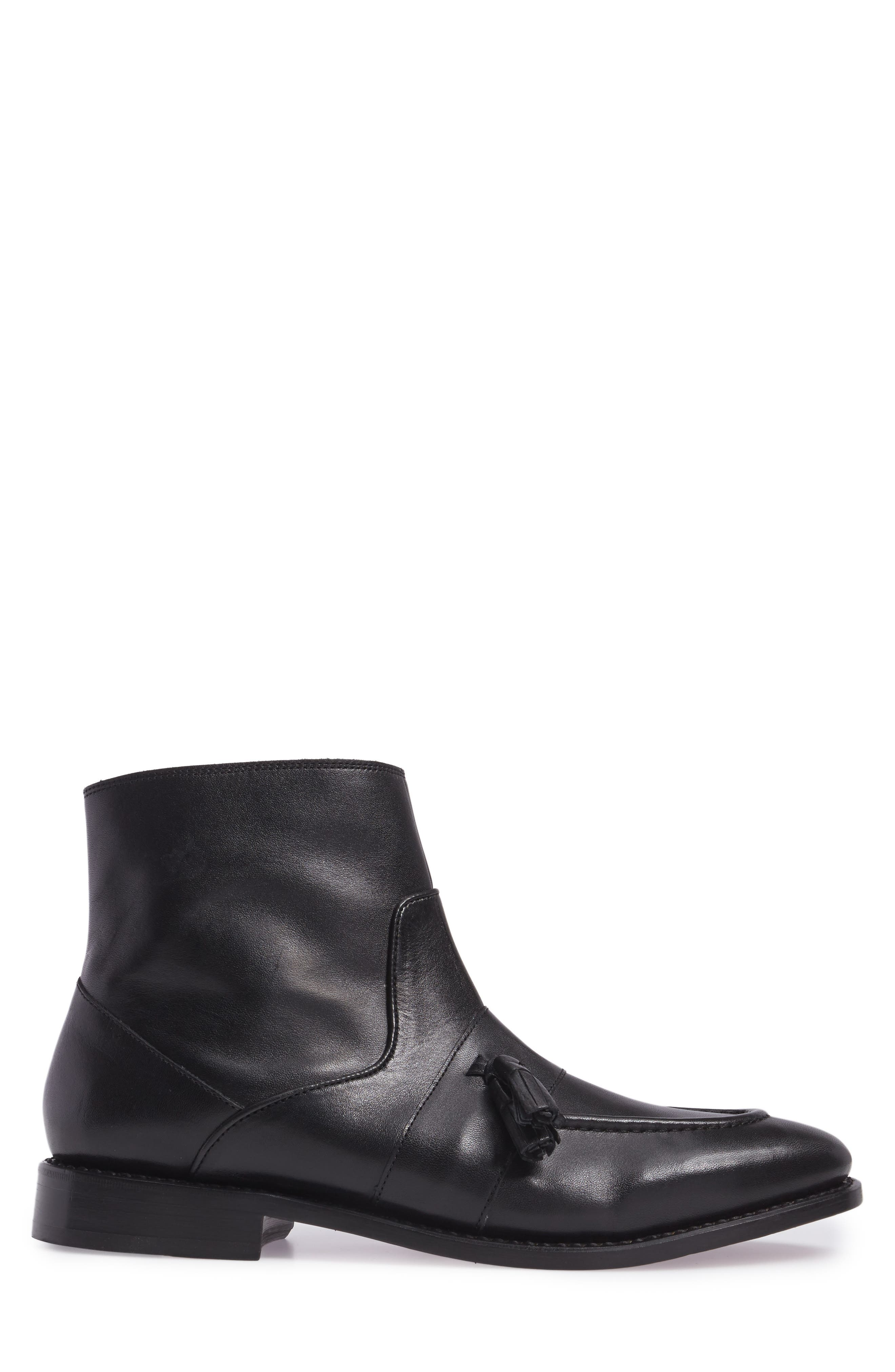 MICHAEL BASTIAN,                             Sidney Zip Boot,                             Alternate thumbnail 3, color,                             011