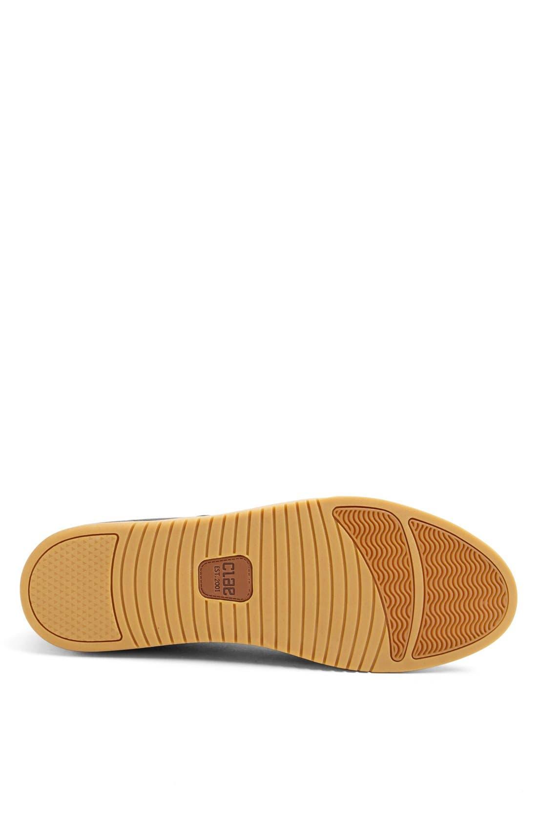 CLAE,                             'Ellington' Sneaker,                             Alternate thumbnail 4, color,                             001