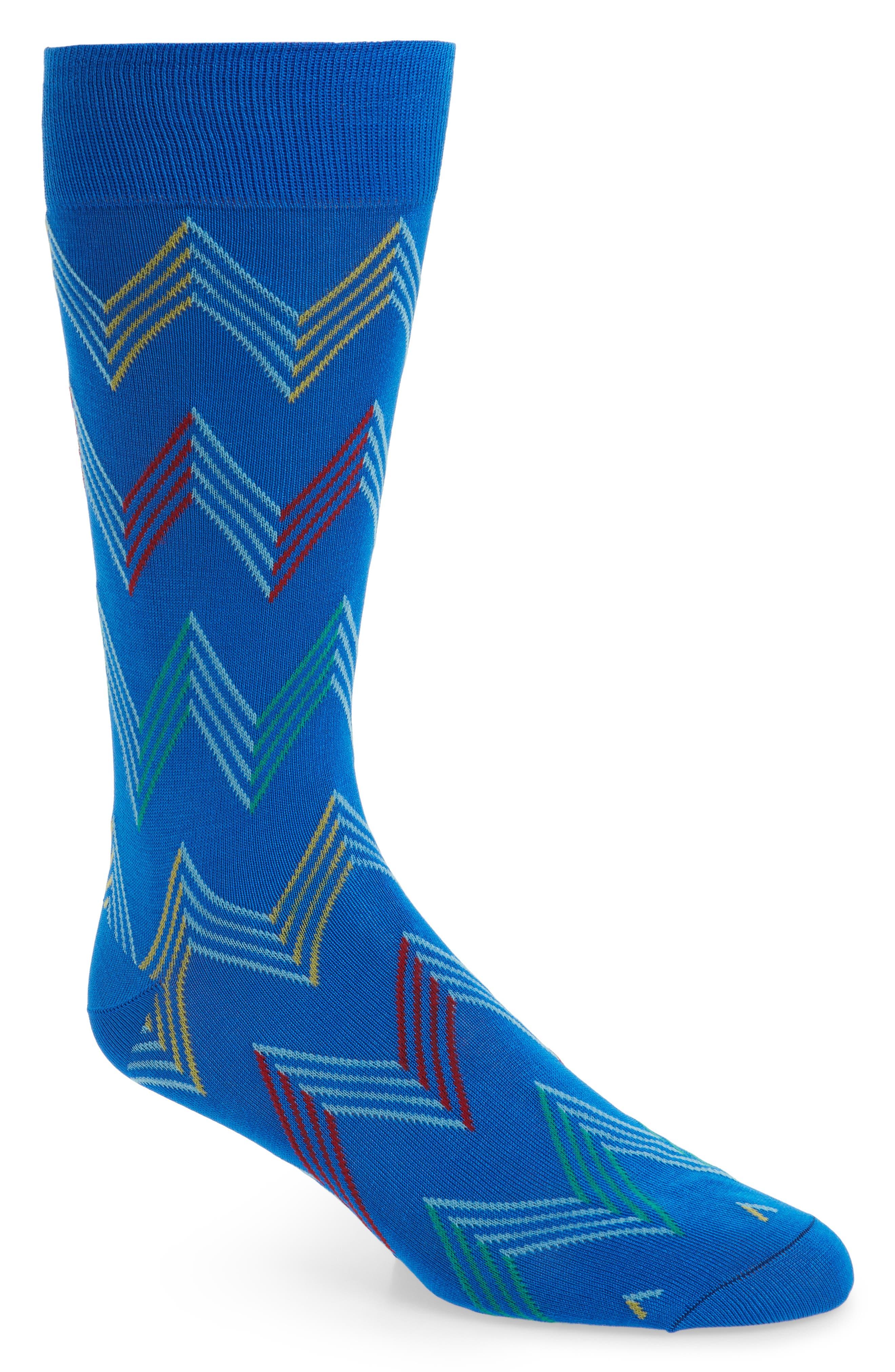 Zigzag Socks,                             Main thumbnail 2, color,