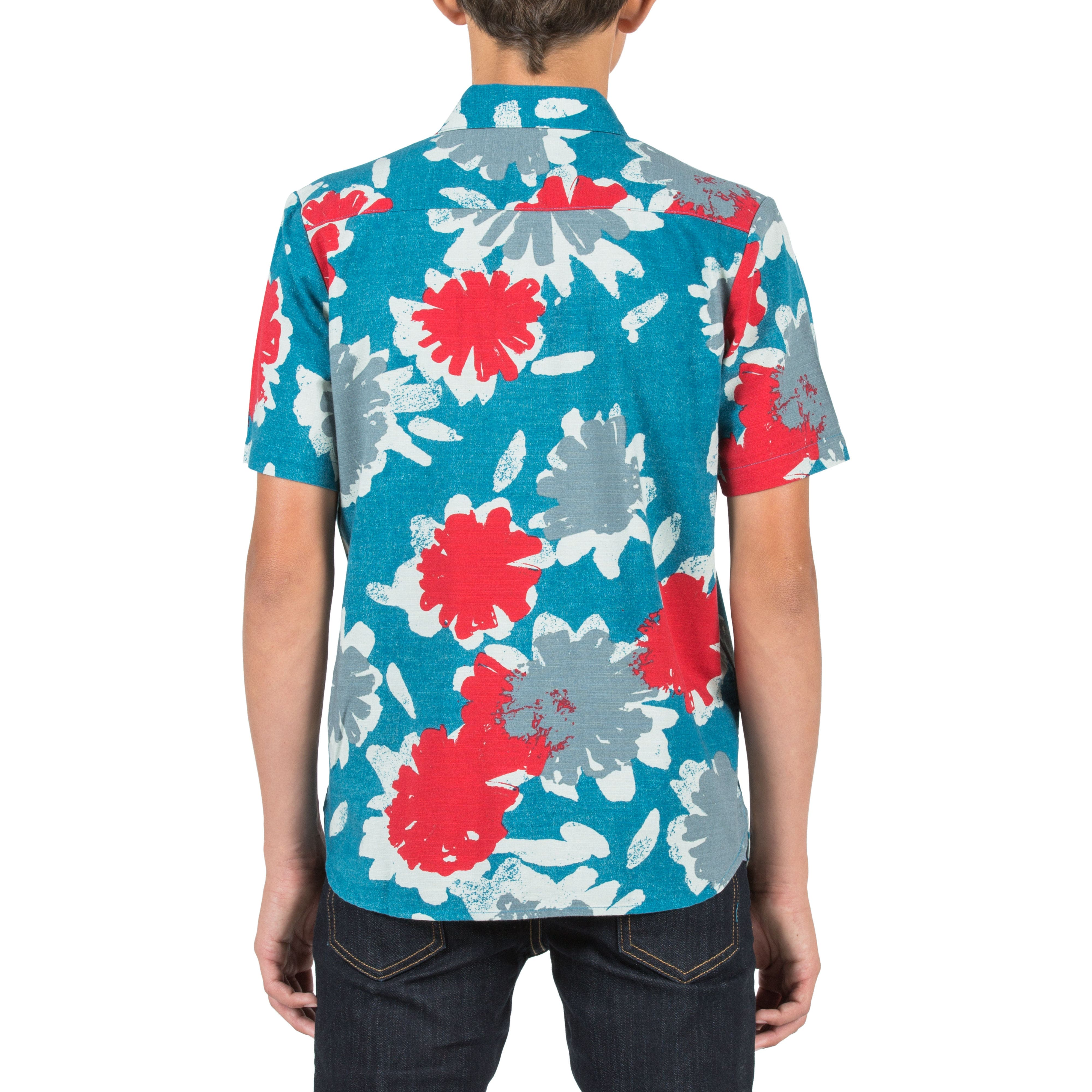Ballast Short Sleeve Woven Shirt,                             Alternate thumbnail 2, color,                             435