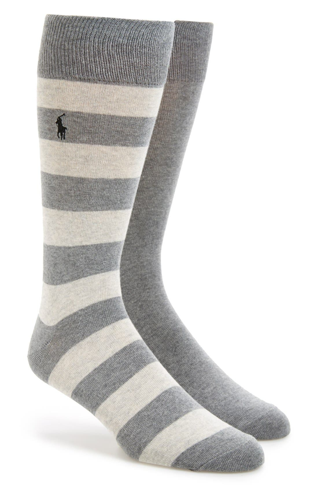 Cotton Blend Socks,                             Main thumbnail 4, color,