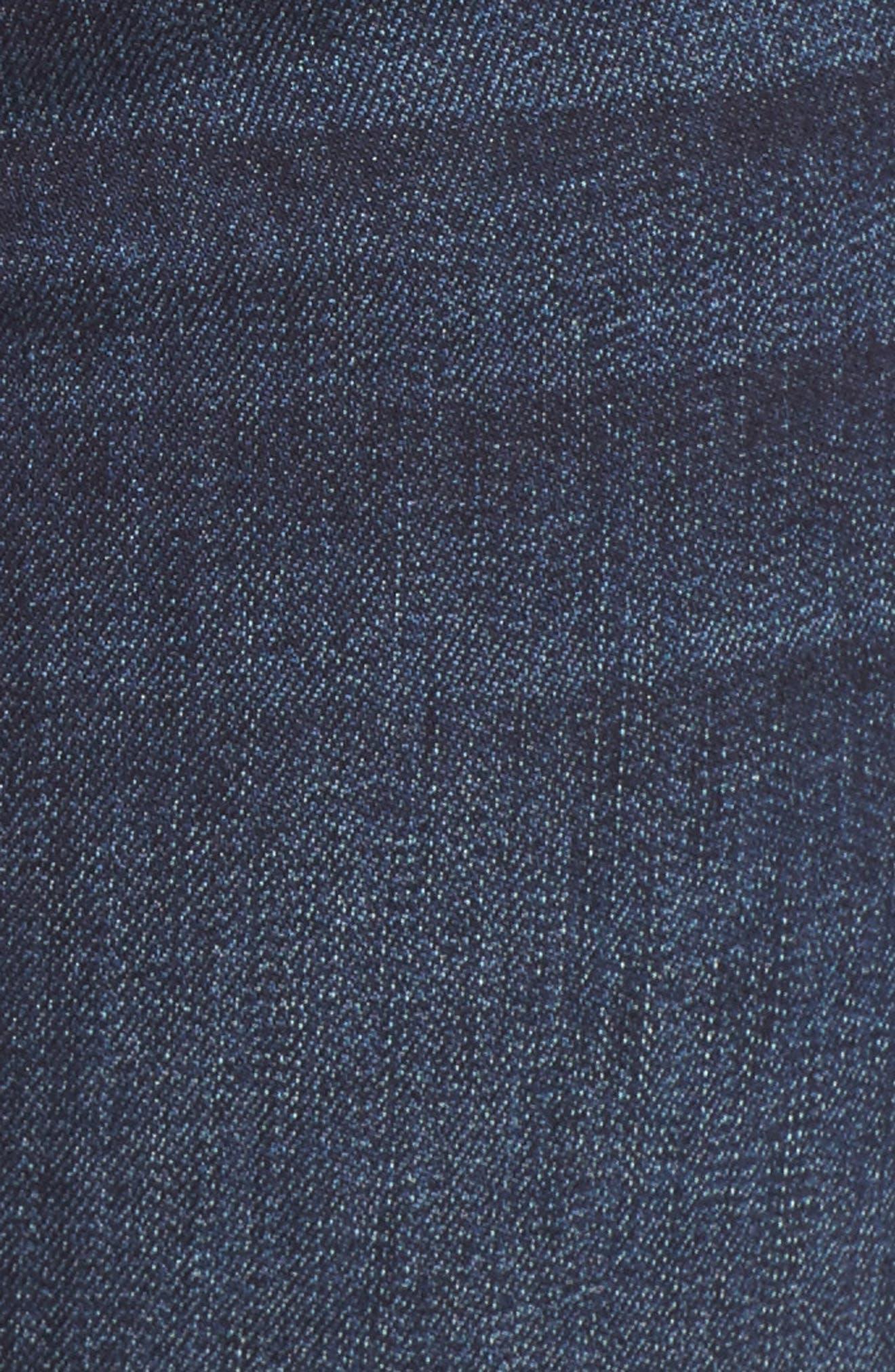 Corine Denim Shorts,                             Alternate thumbnail 6, color,                             401