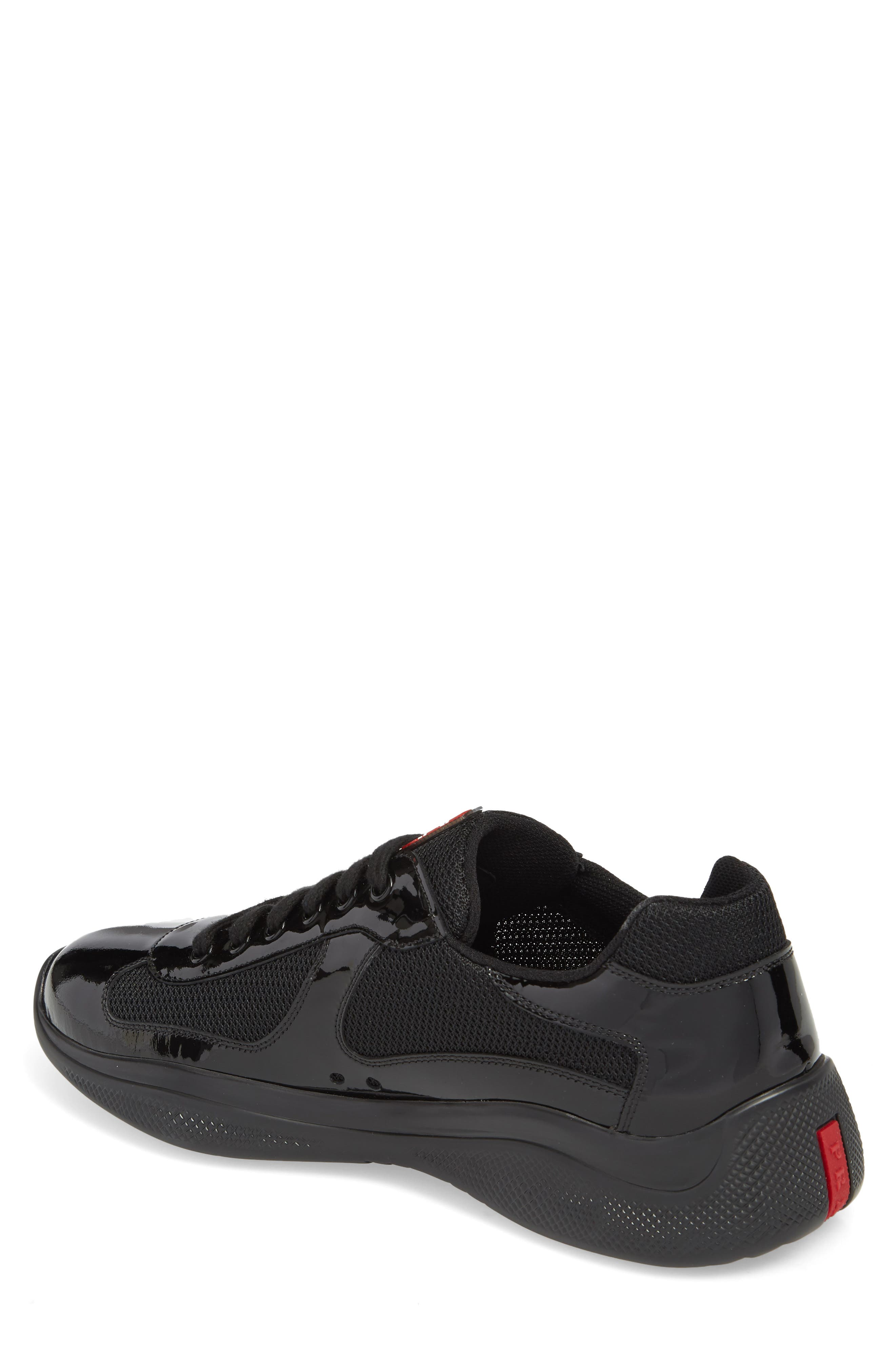 Americas Cup Sneaker,                             Alternate thumbnail 2, color,                             NERO/ ARGENTO