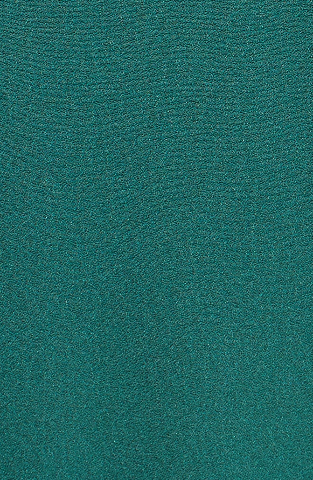 Micah Silk Wrap Dress,                             Alternate thumbnail 5, color,                             301
