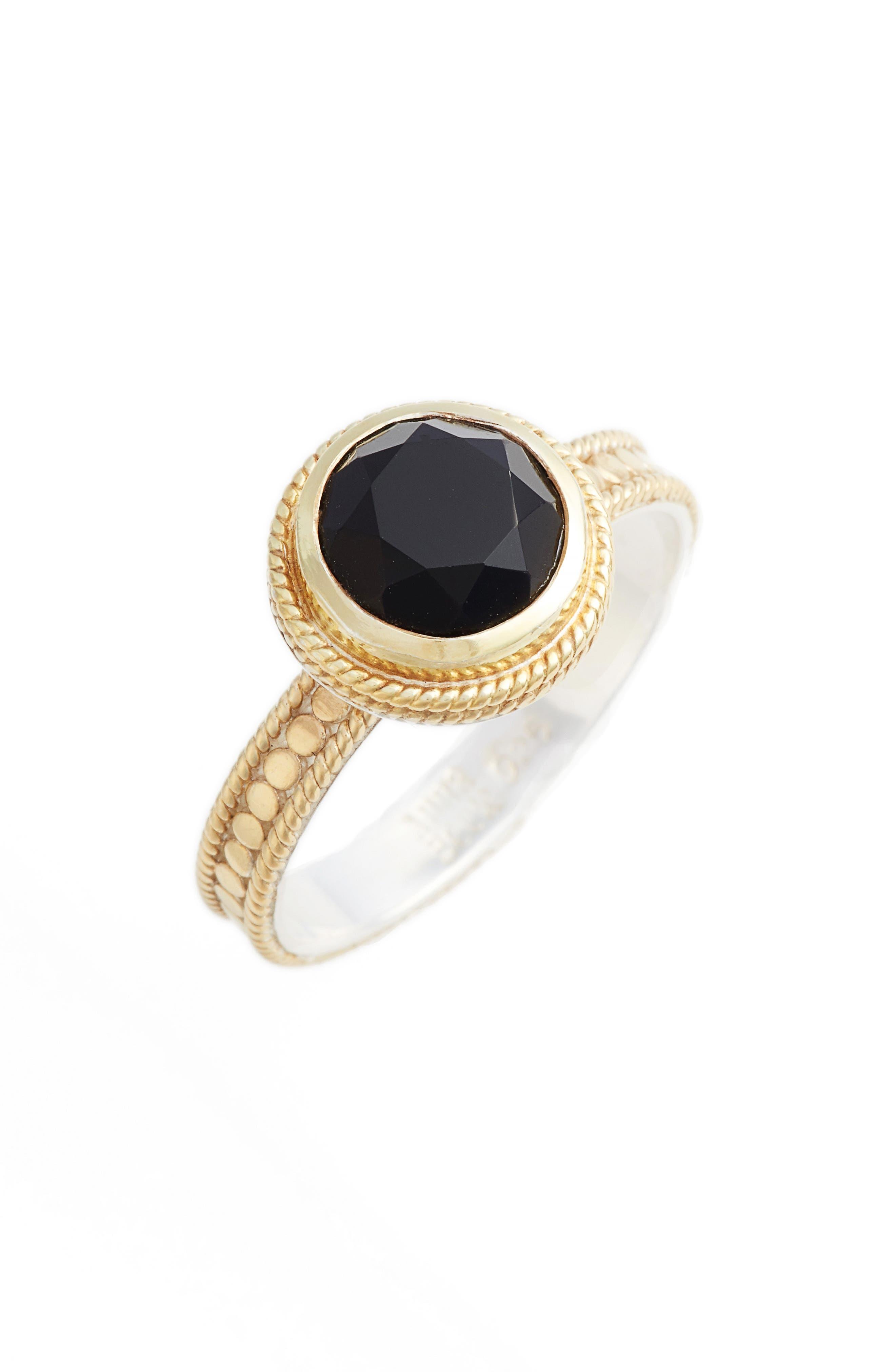 Semiprecious Stone Ring,                         Main,                         color, 001