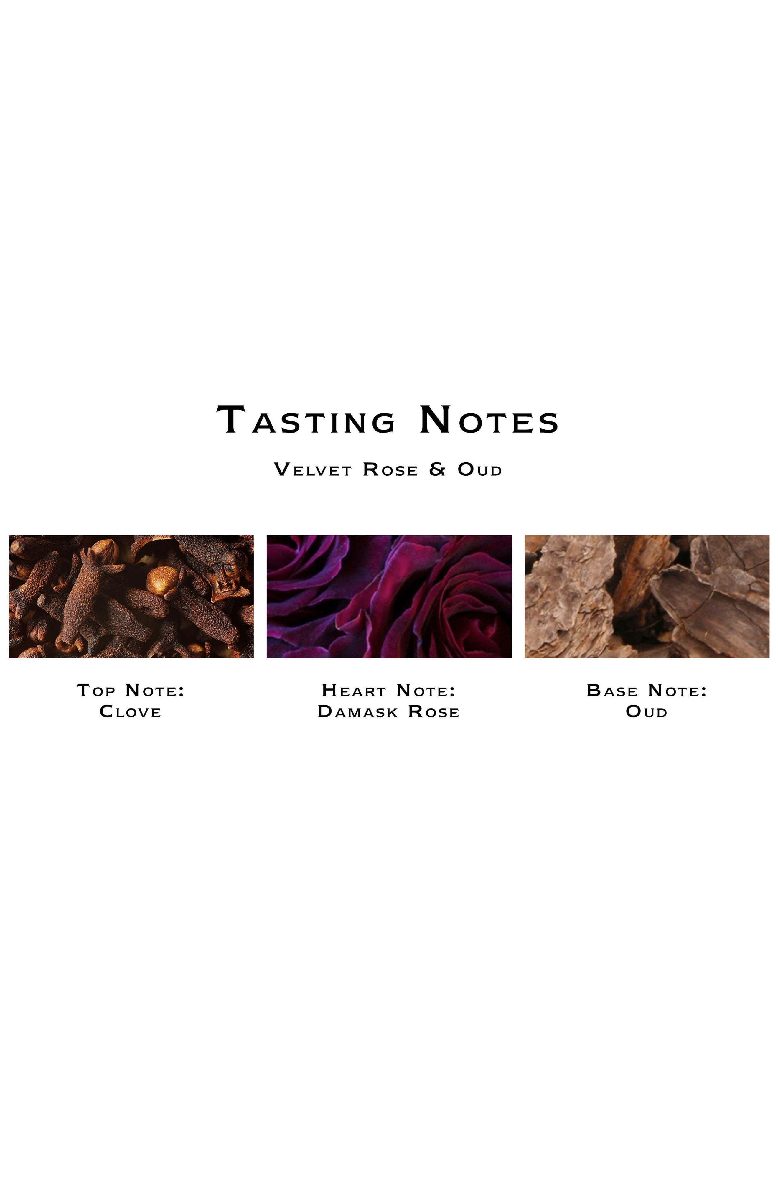 Velvet Rose & Oud Dry Body Oil,                             Alternate thumbnail 4, color,