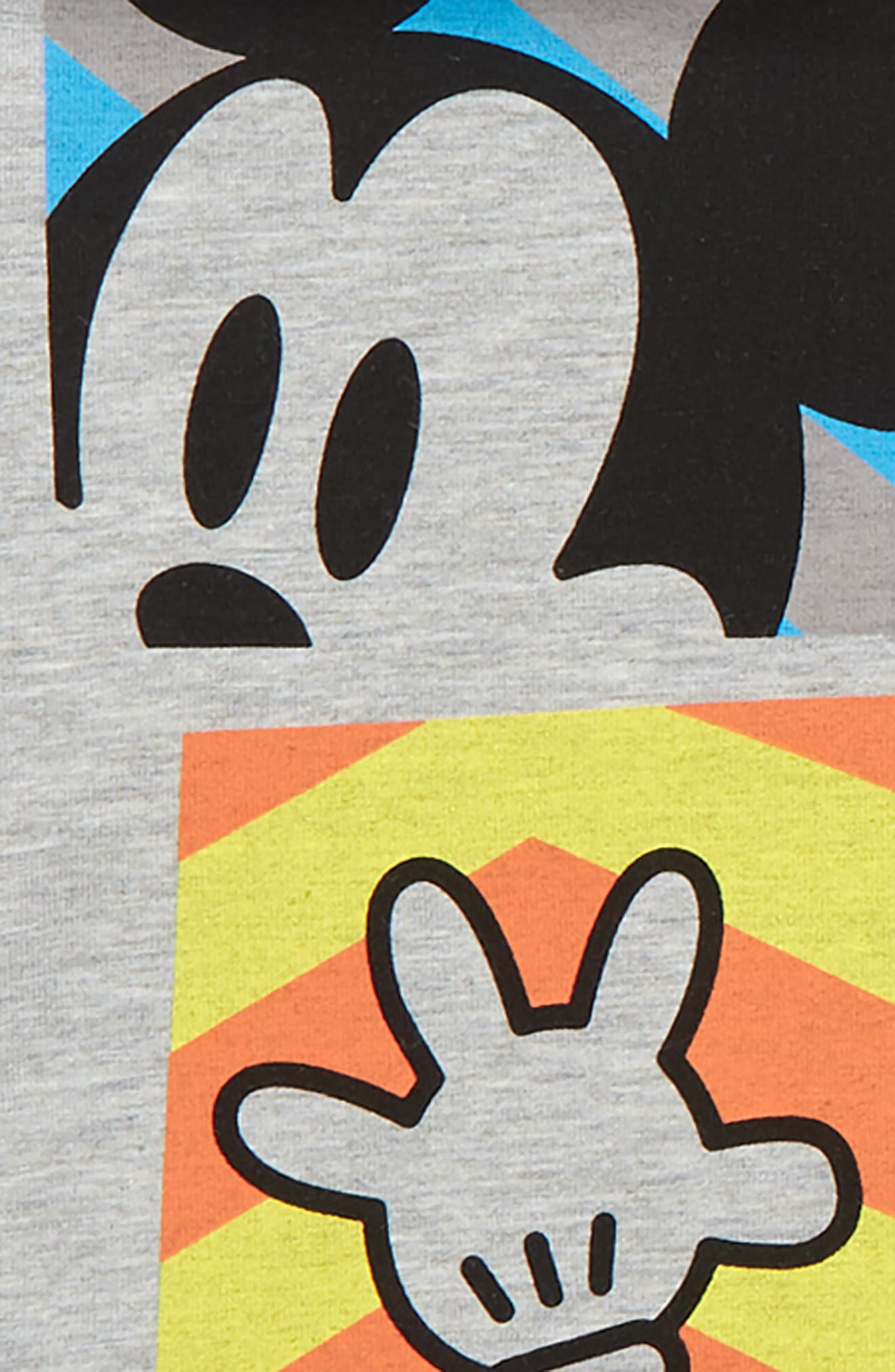 x Disney<sup>®</sup> Mickey Mouse Hoodie, Tutu & Bloomers Set,                             Alternate thumbnail 3, color,                             020
