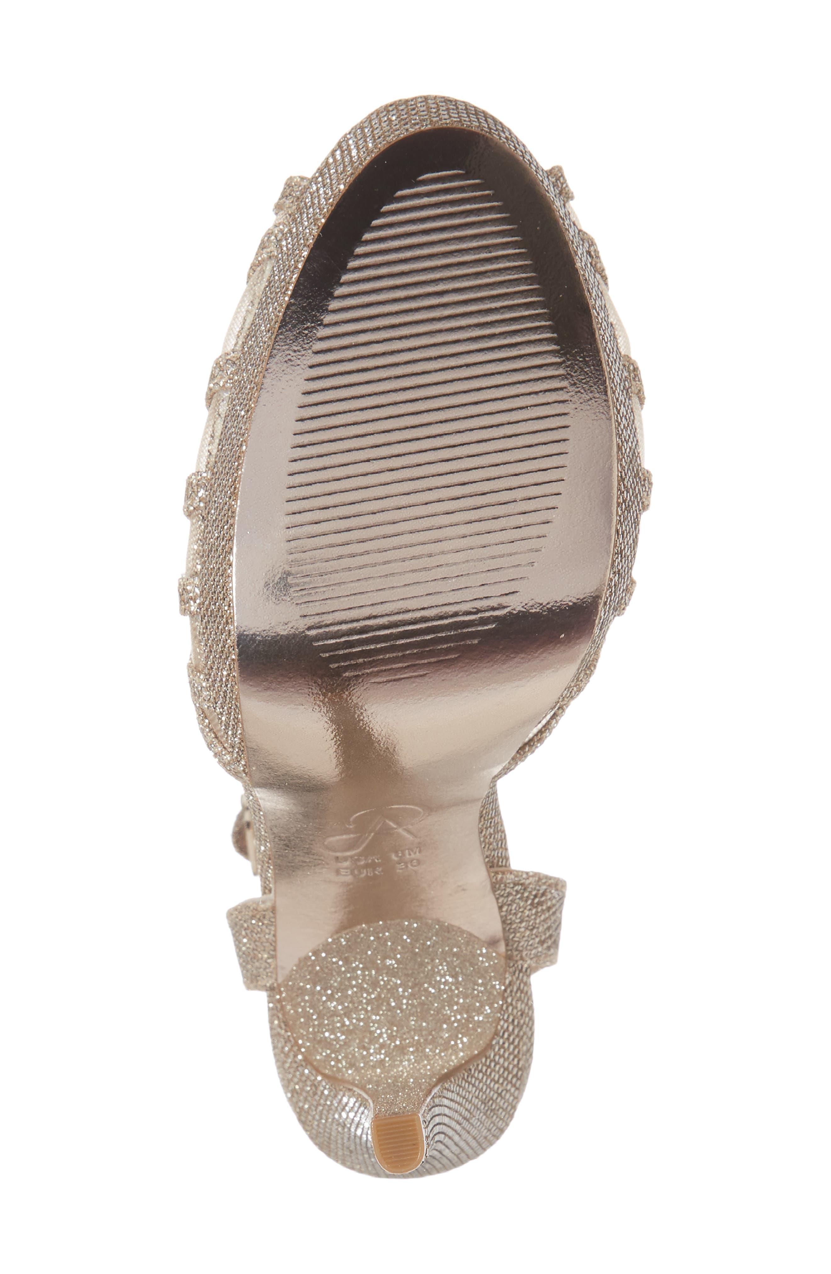 Saida Platform Sandal,                             Alternate thumbnail 6, color,                             040