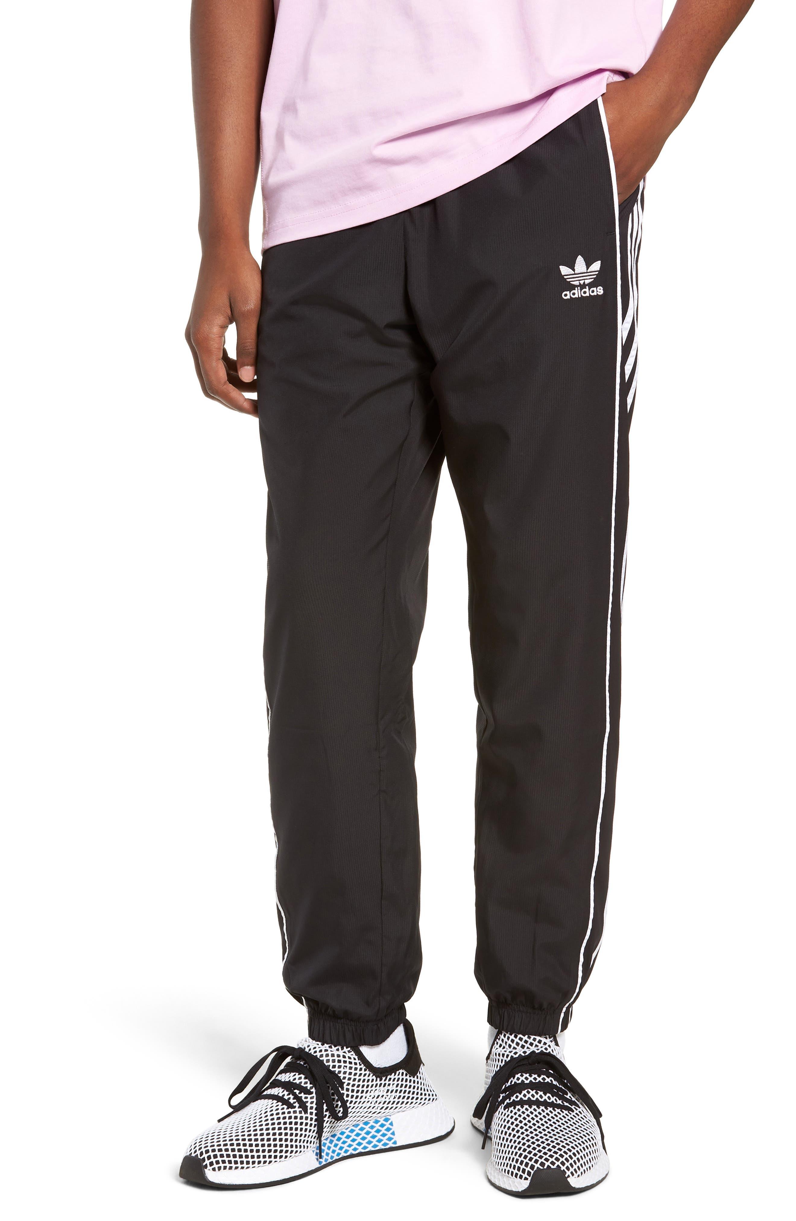 Authentics Track Pants,                         Main,                         color, BLACK/ WHITE