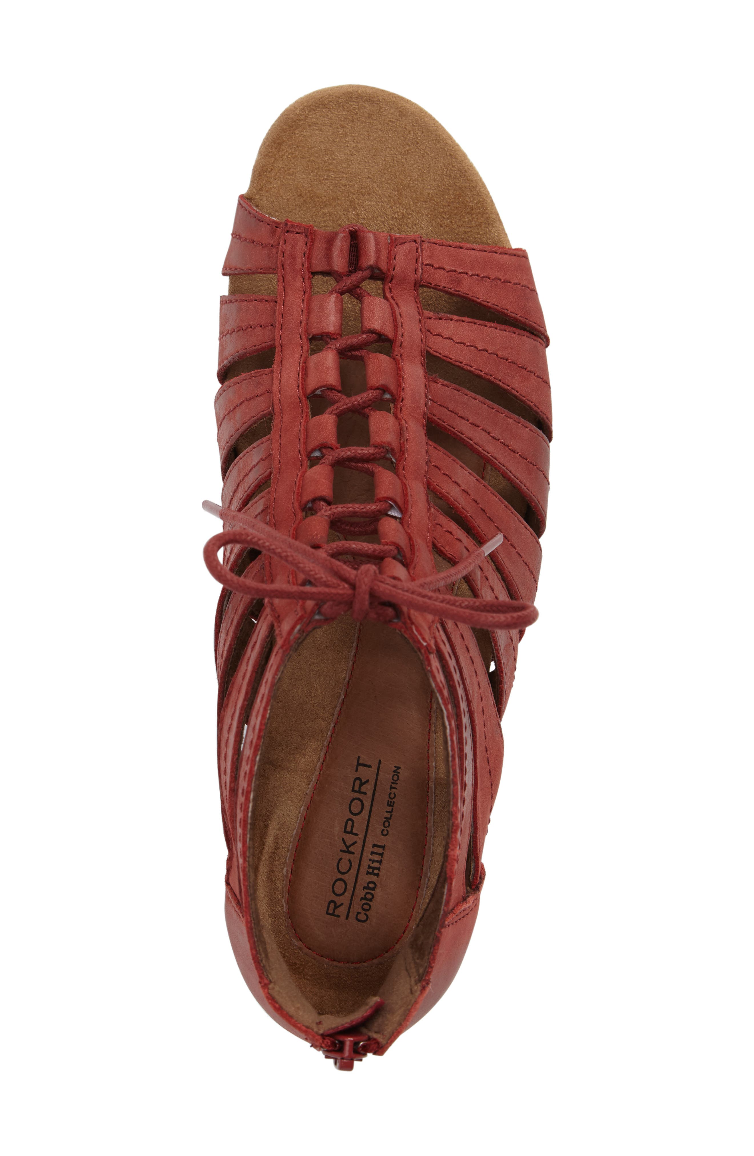 'Gabby' Lace-Up Sandal,                             Alternate thumbnail 40, color,