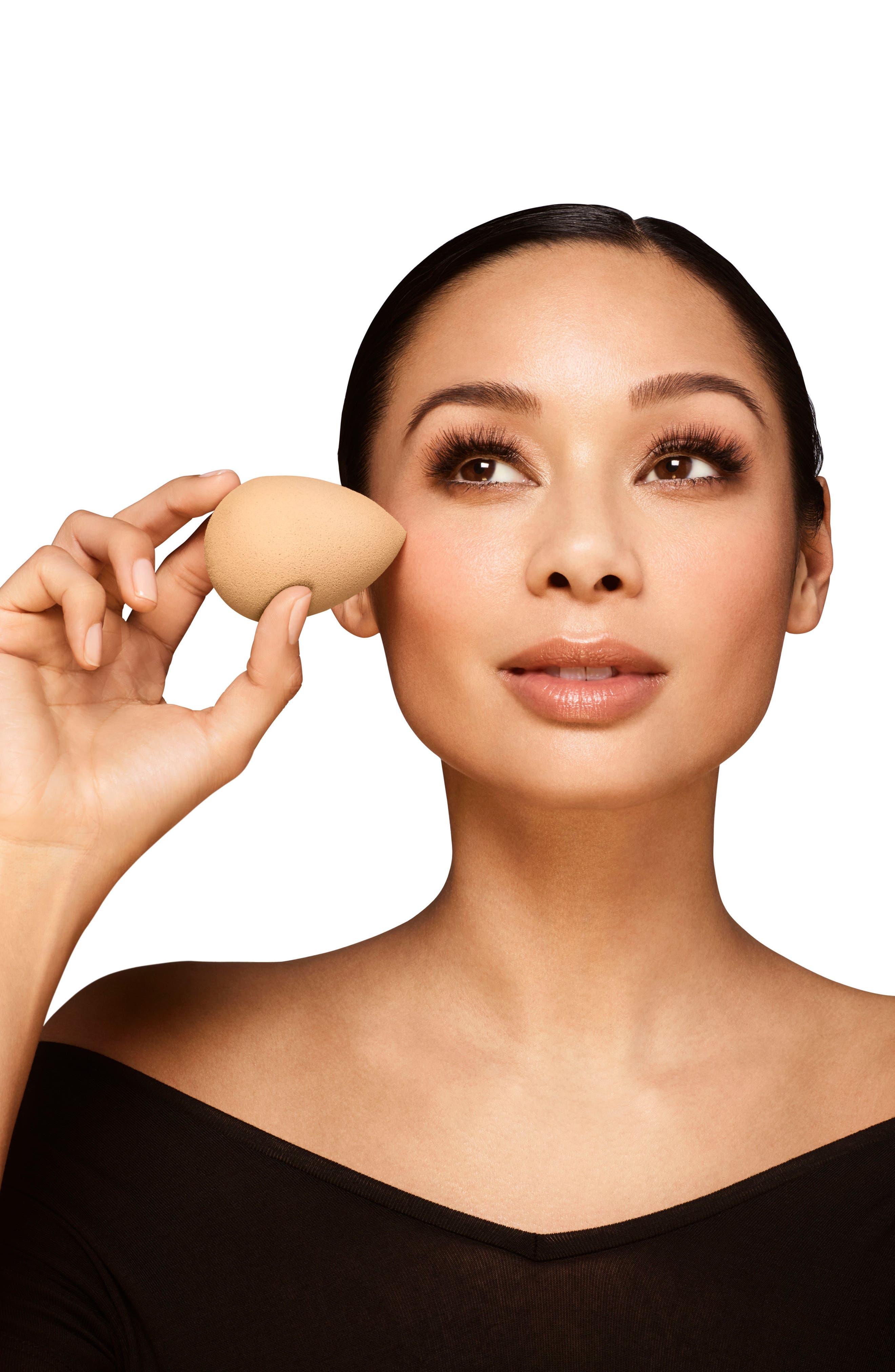 Nude Makeup Sponge Applicator,                             Alternate thumbnail 4, color,                             NO COLOR