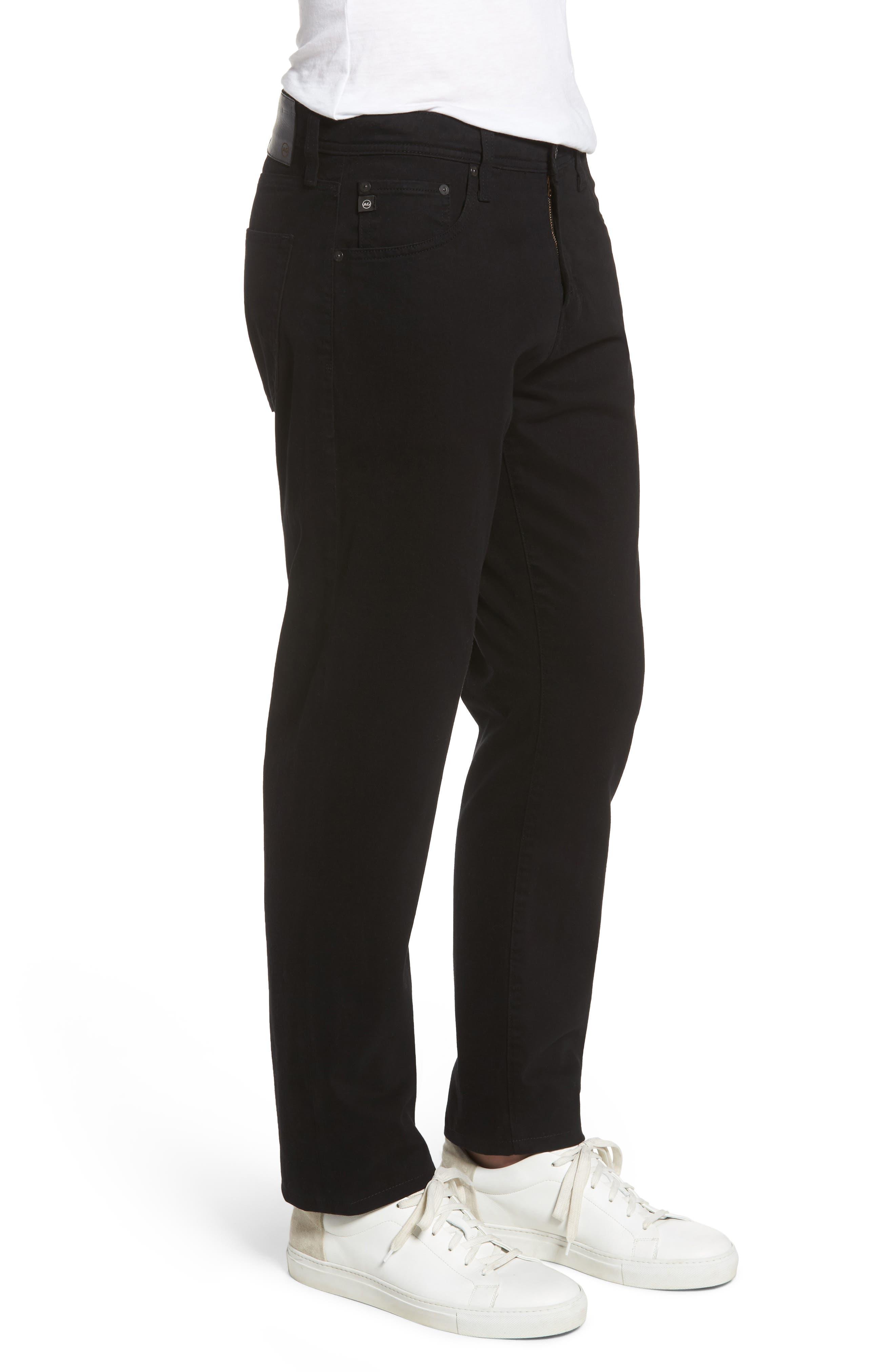 Ives SUD Straight Leg Pants,                             Alternate thumbnail 3, color,                             SUPER BLACK