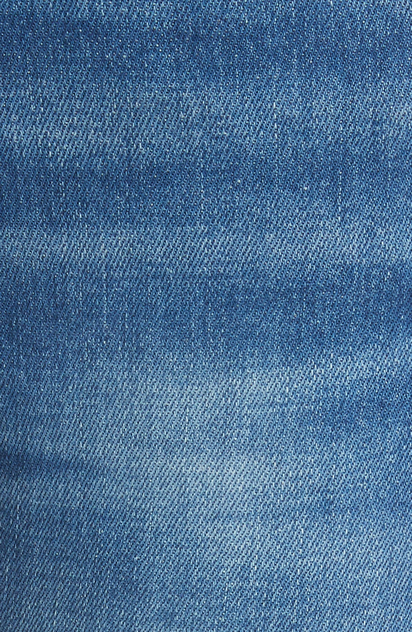 Le High Flare Jeans,                             Alternate thumbnail 6, color,                             CLAPPS