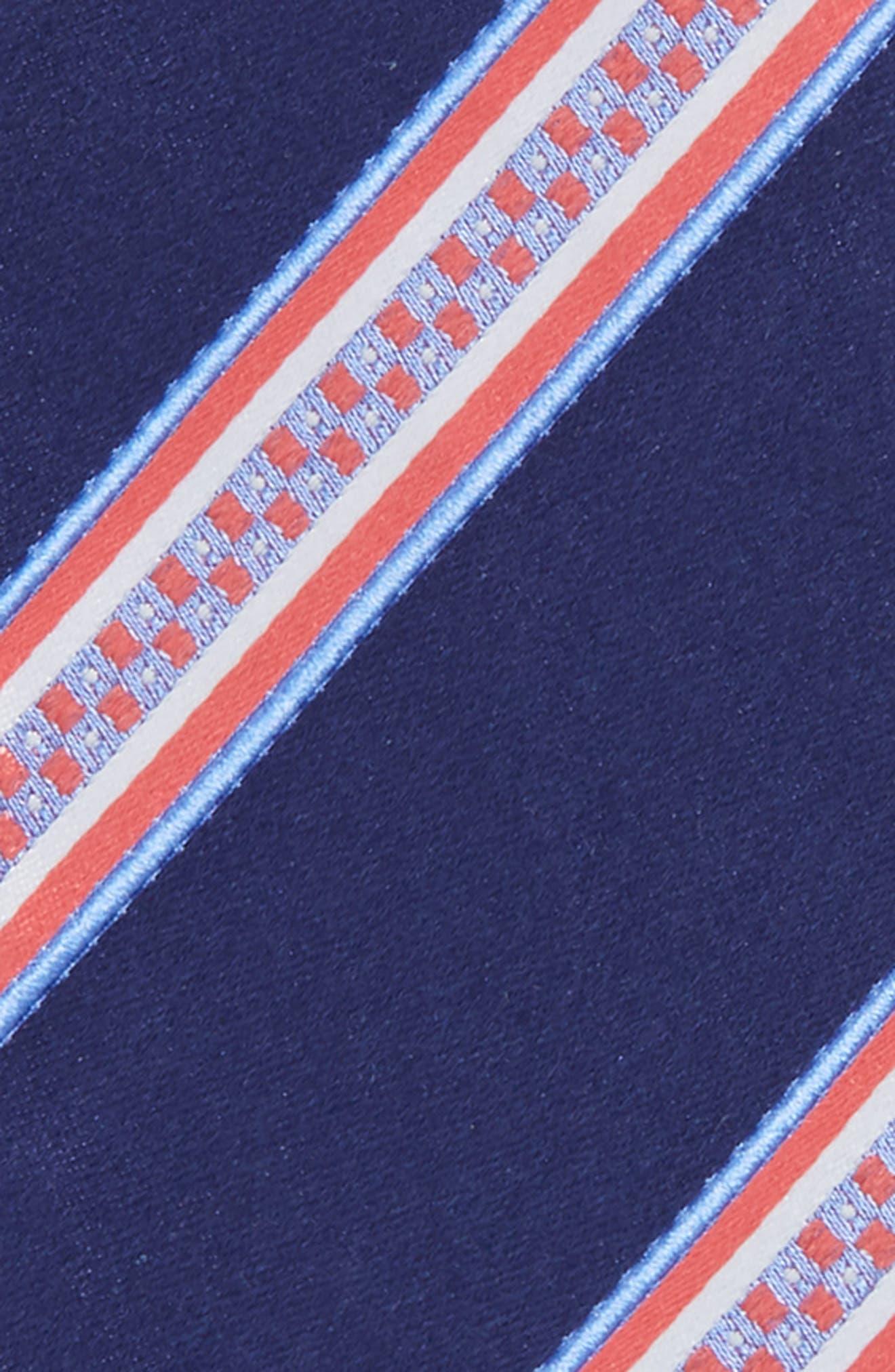 Stripe Silk Bow Tie,                             Alternate thumbnail 3, color,                             411