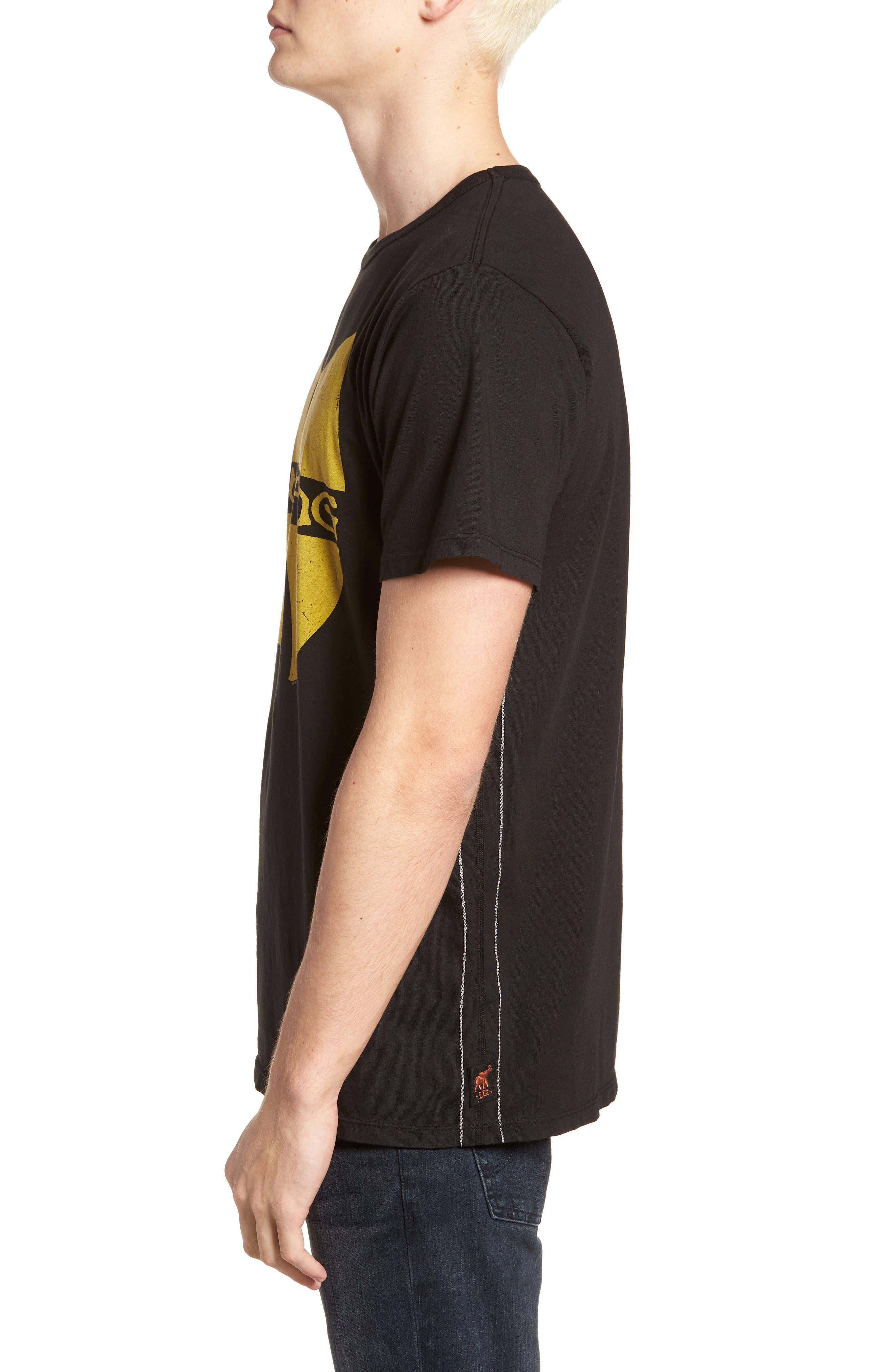 Wu-Tang Graphic T-Shirt,                             Alternate thumbnail 3, color,                             001