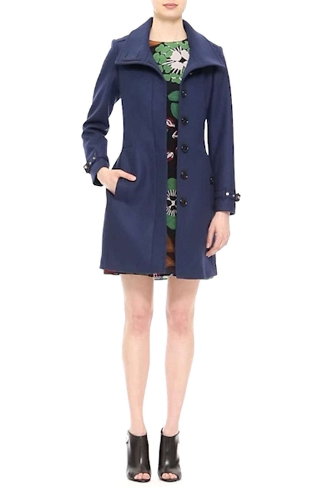 Gibbsmoore Funnel Collar Trench Coat,                             Alternate thumbnail 2, color,                             466
