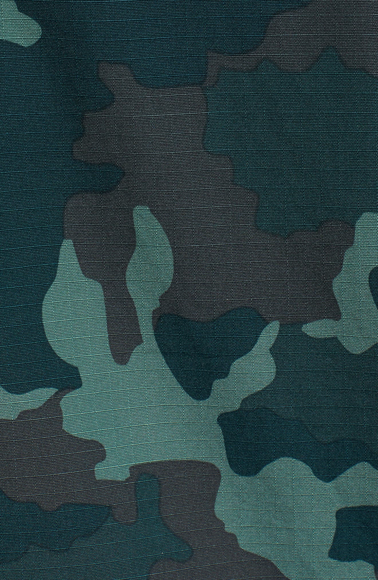 NSW Lightweight Camo Field Jacket,                             Alternate thumbnail 7, color,                             MIDNIGHT SPRUCE